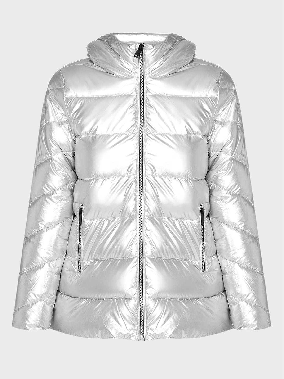 Куртка серебристого цвета | 5606525
