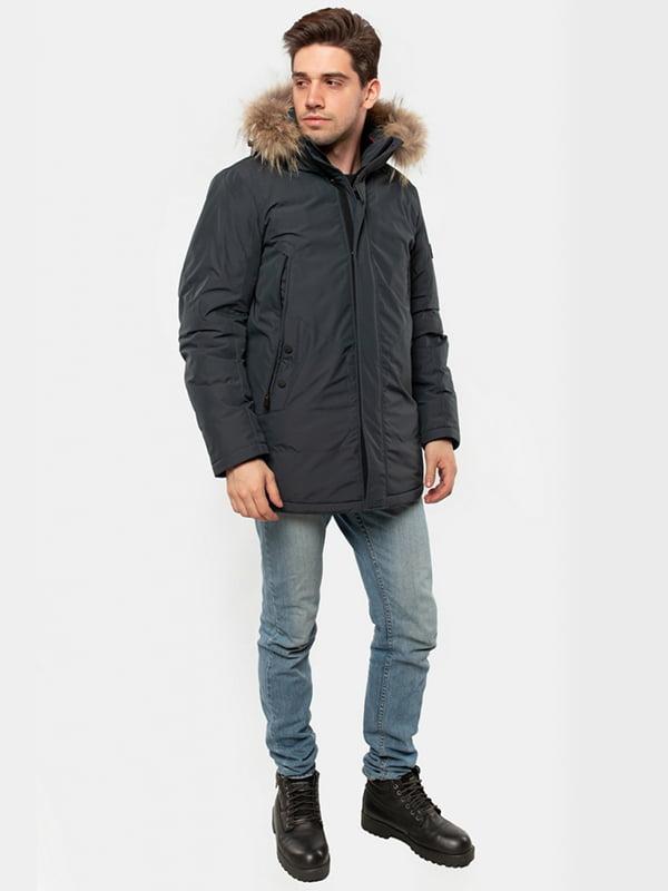 Куртка серо-синяя   5607493