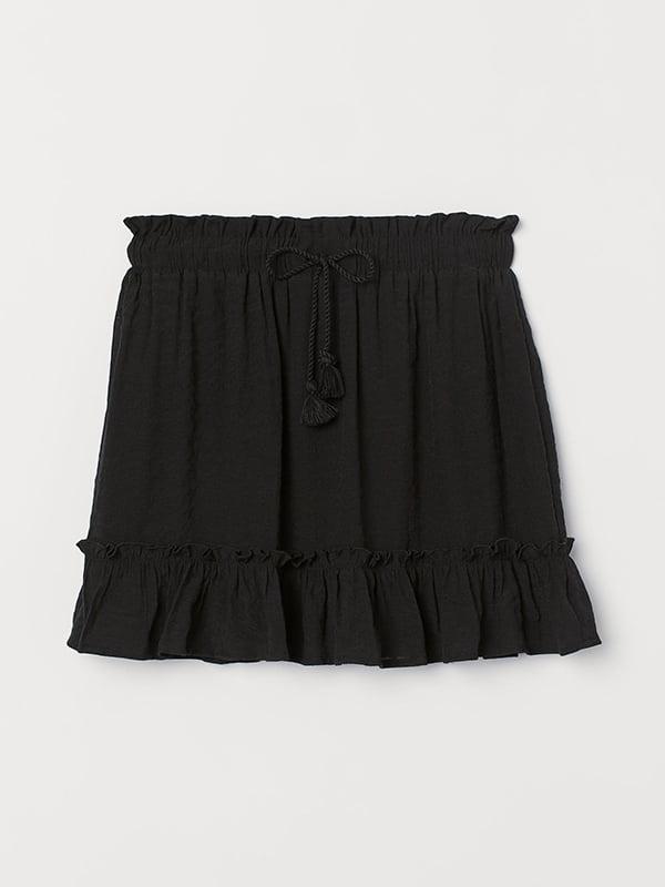 Юбка черная | 5589484