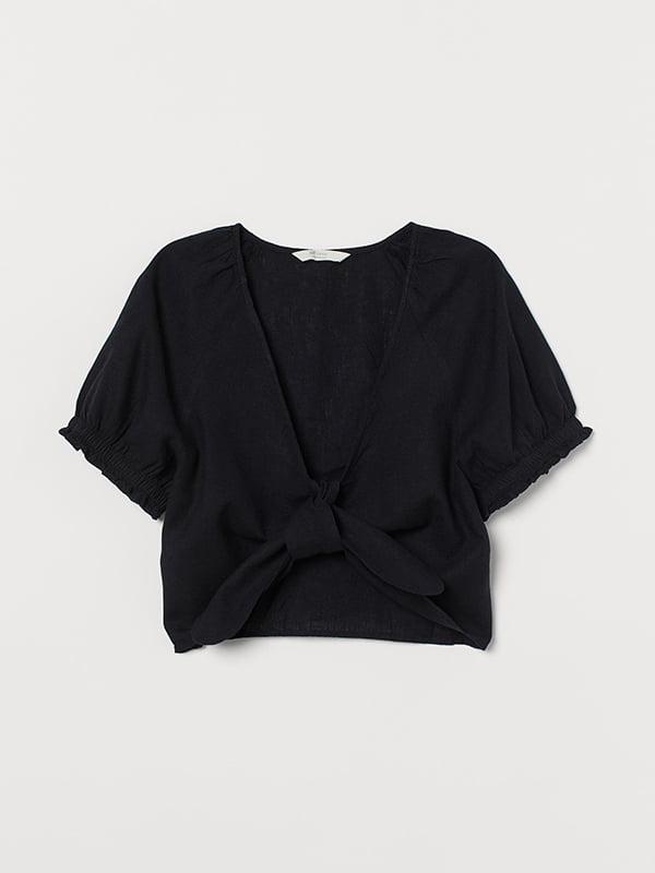 Блуза черная | 5607236