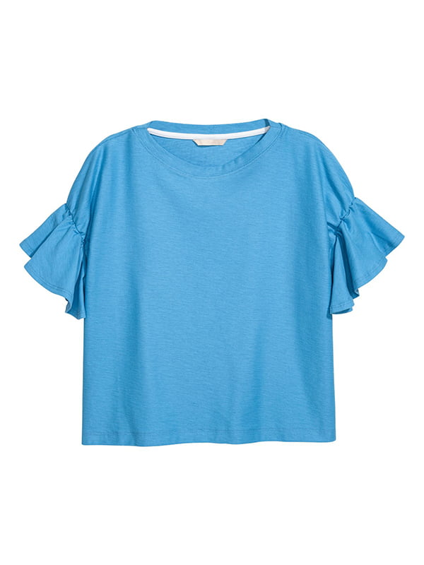 Топ голубой | 5607283