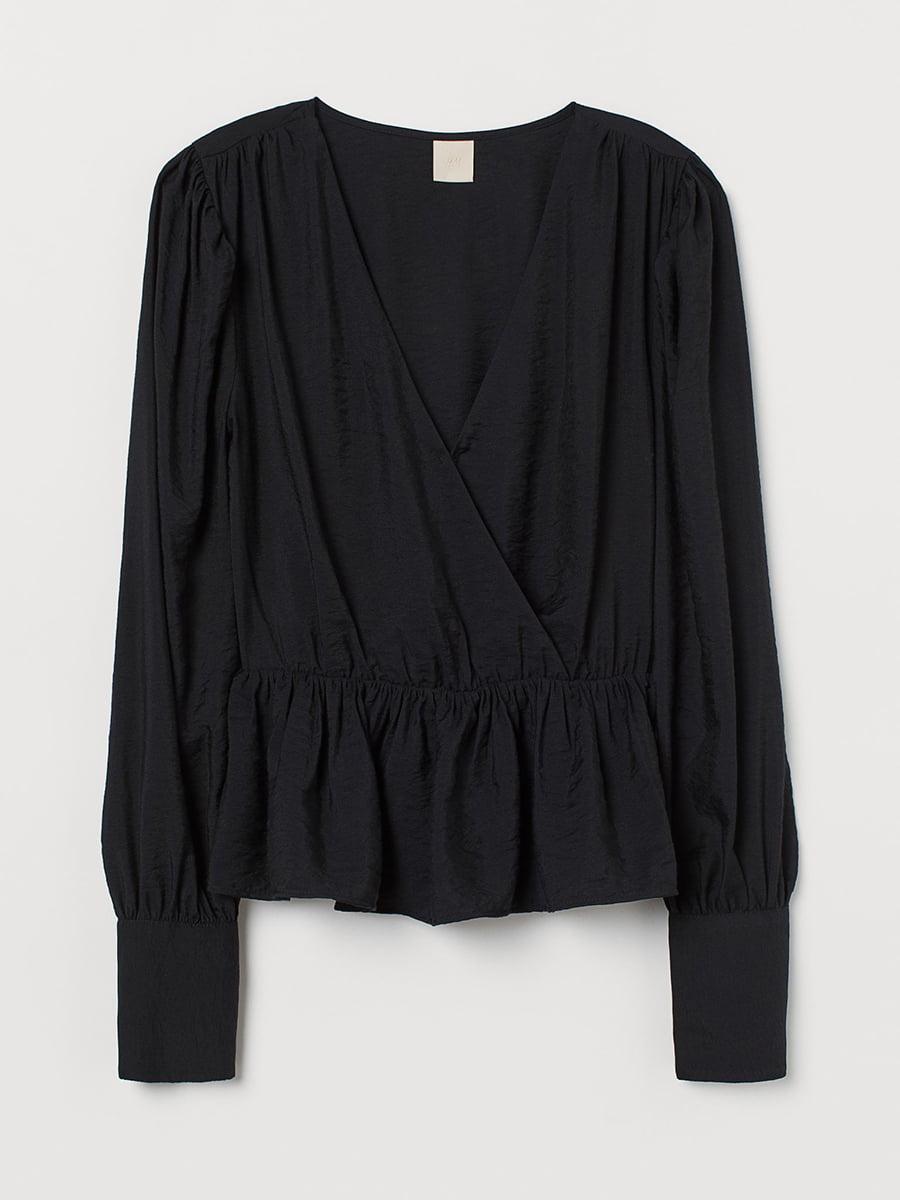 Блуза черная   5608296