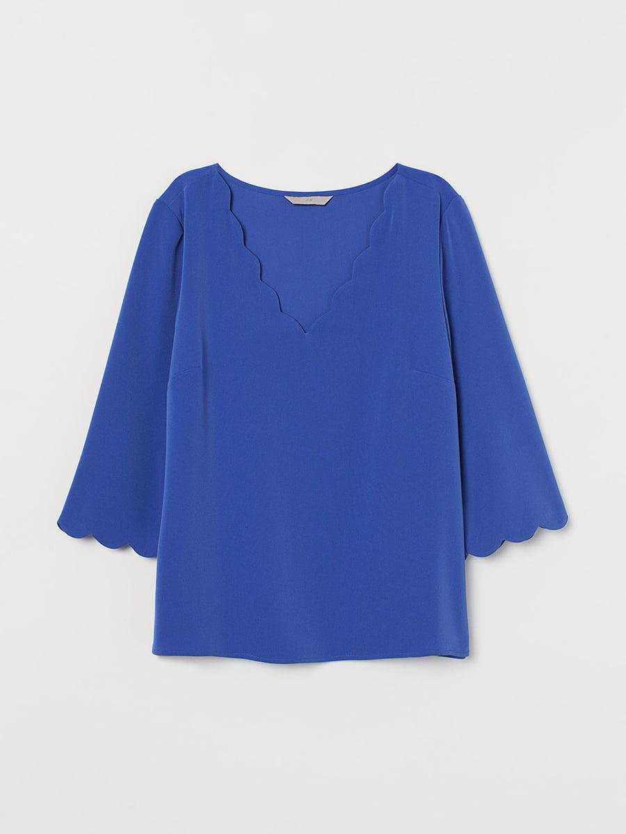 Блуза синяя | 5608325