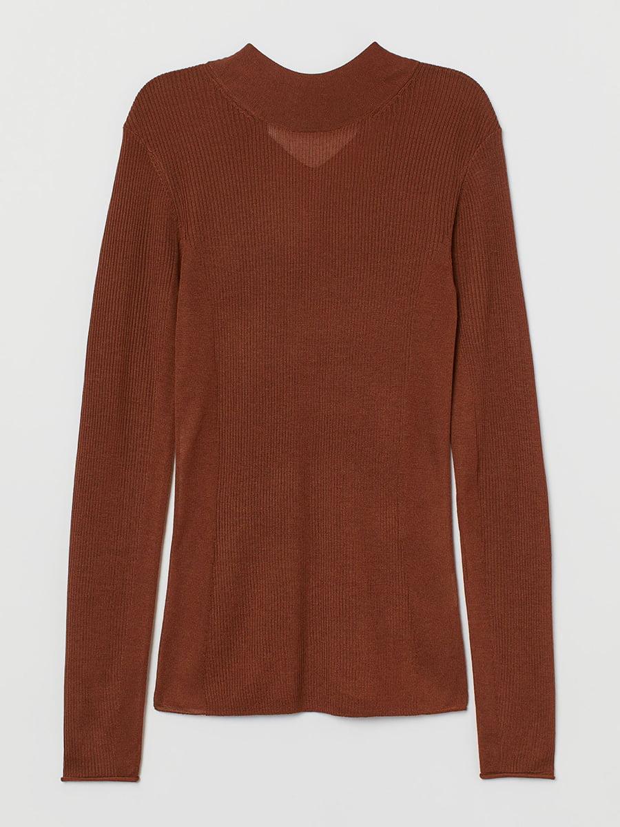 Пуловер коричневый | 5608423