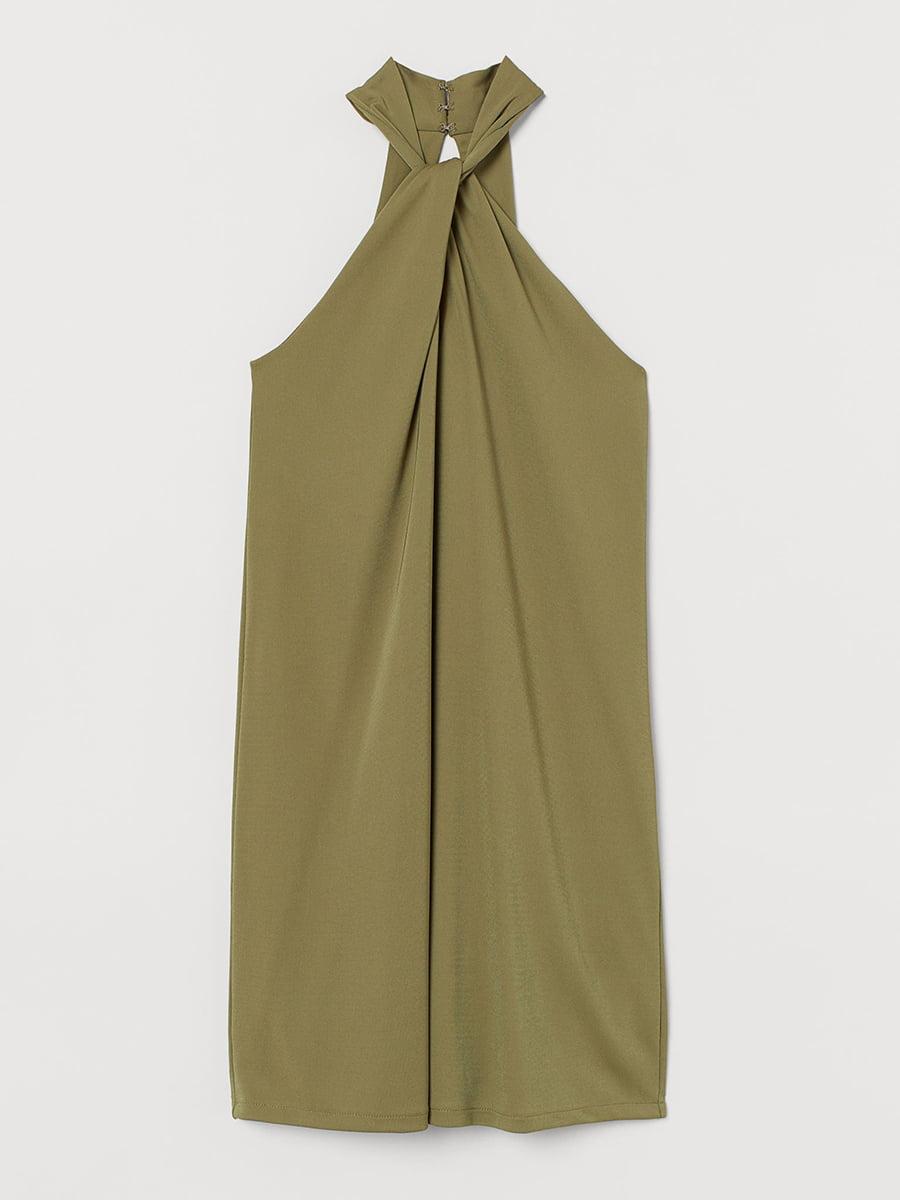 Платье оливкового цвета | 5608494