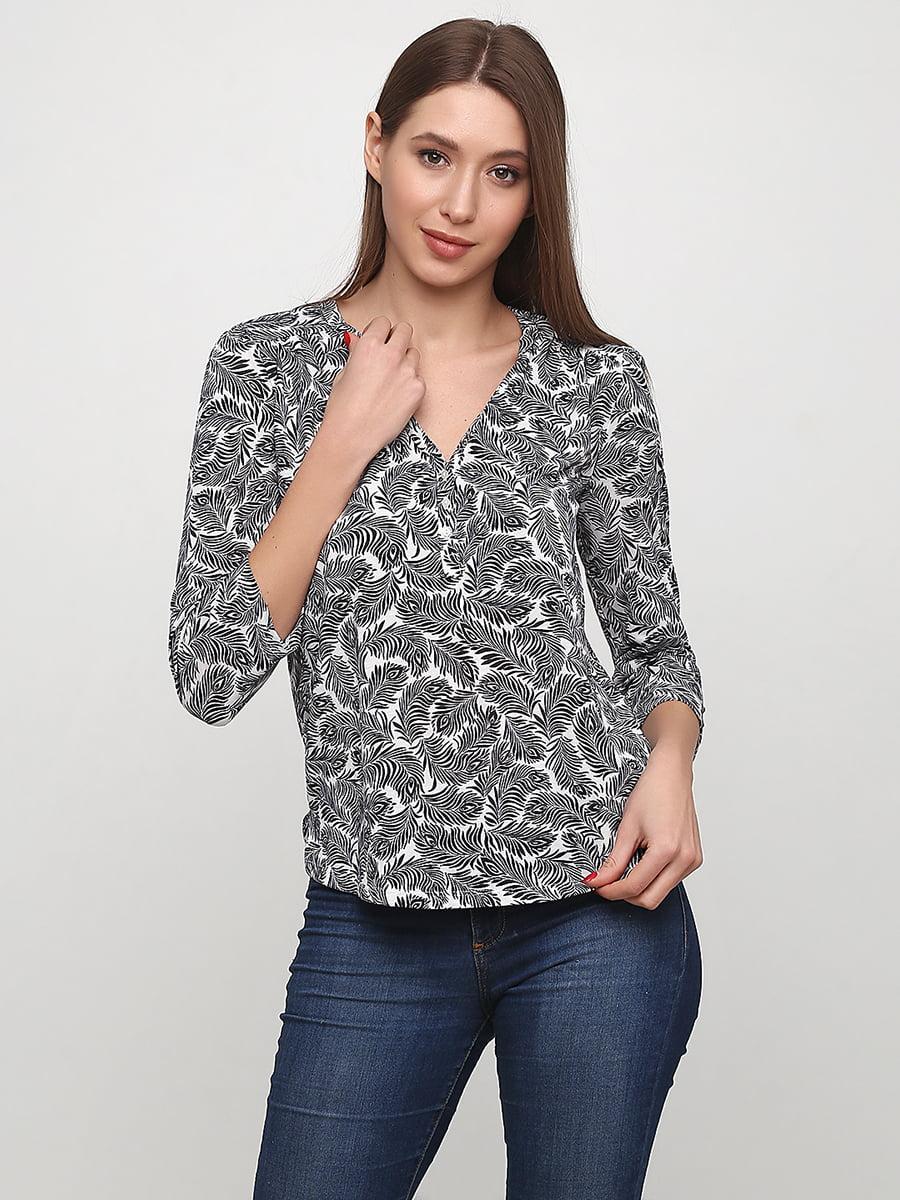 Блуза в принт   5608721