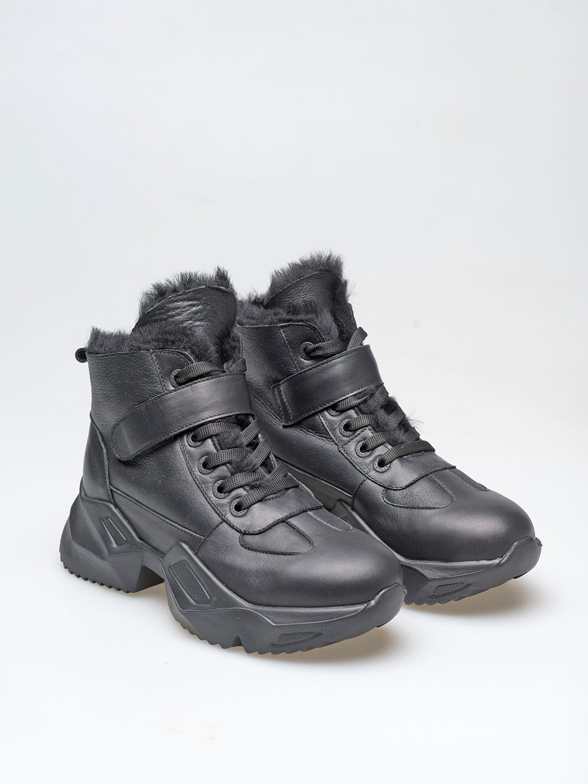 Черевики чорні | 5609327