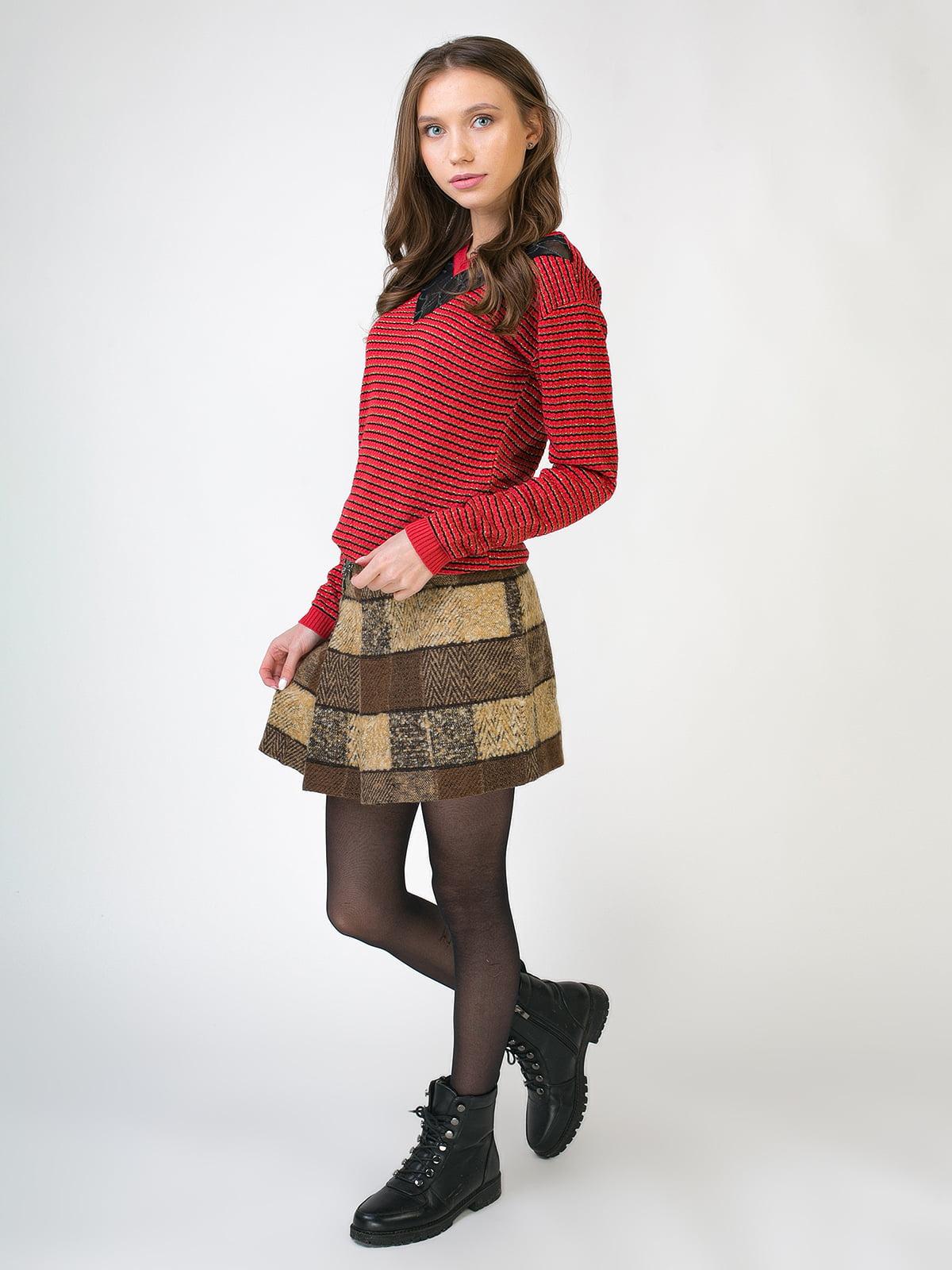 Комплект: пуловер і спідниця | 5605530