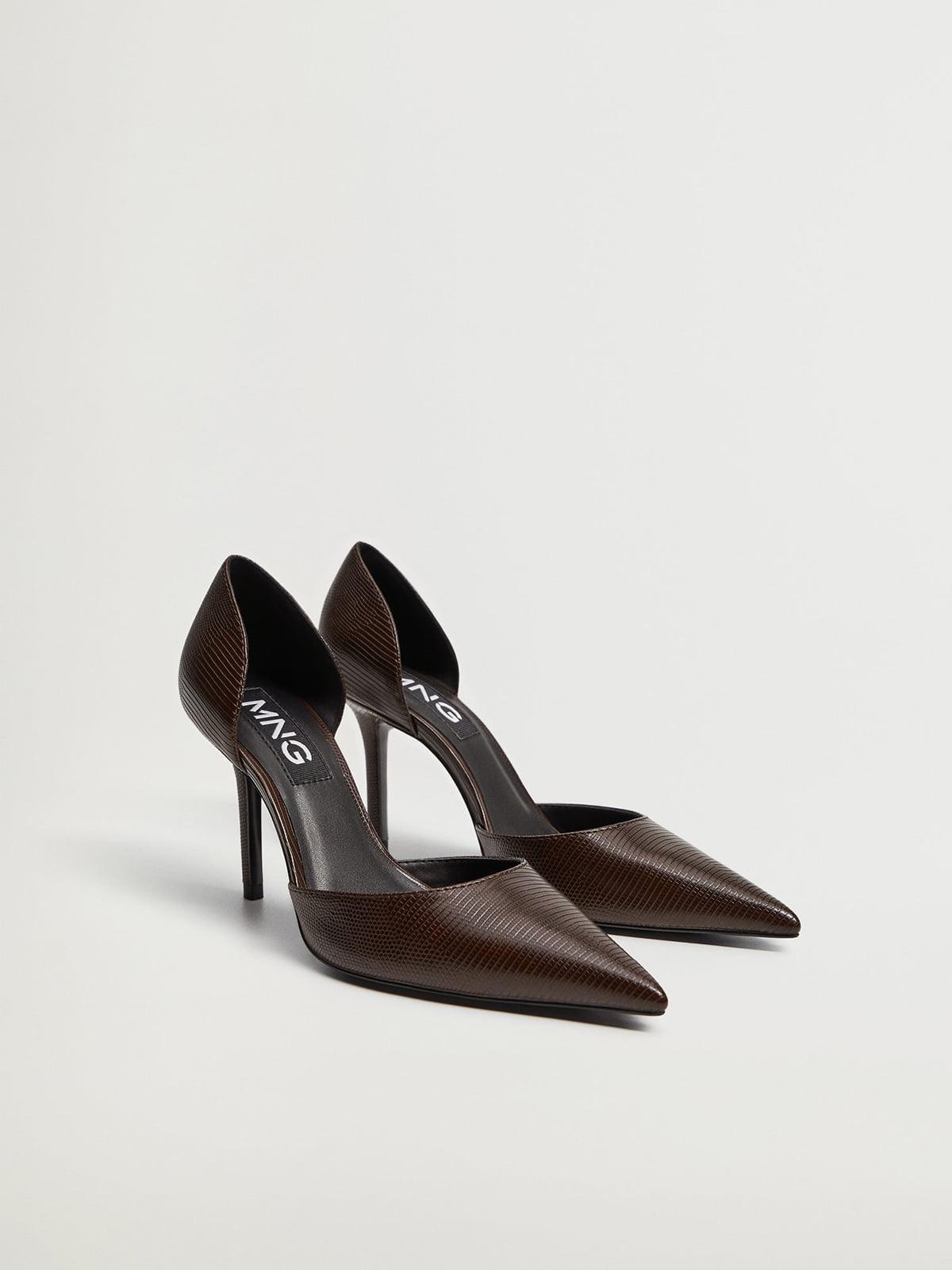 Туфли темно-коричневые | 5609813