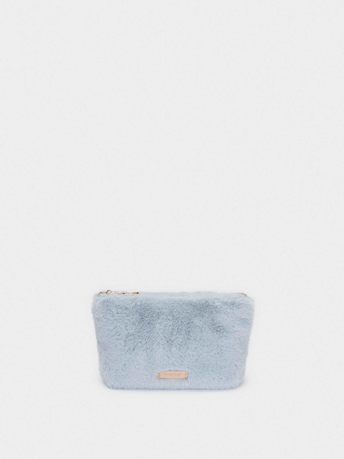 Косметичка голубого цвета | 5610182