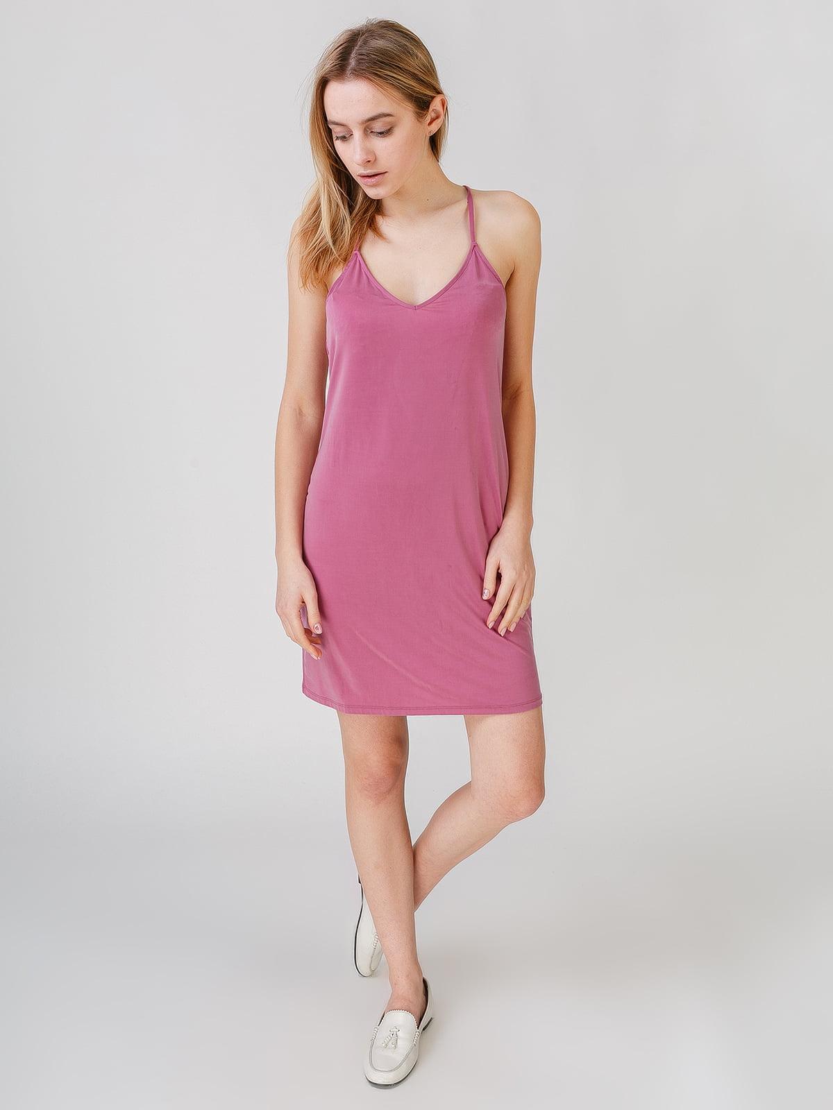 Платье сиреневого цвета | 5609612