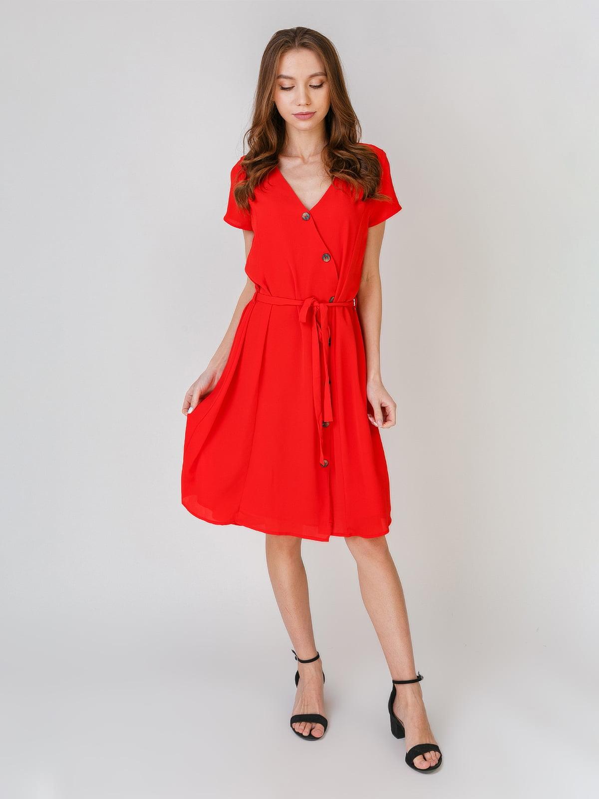 Платье красного цвета | 5609646