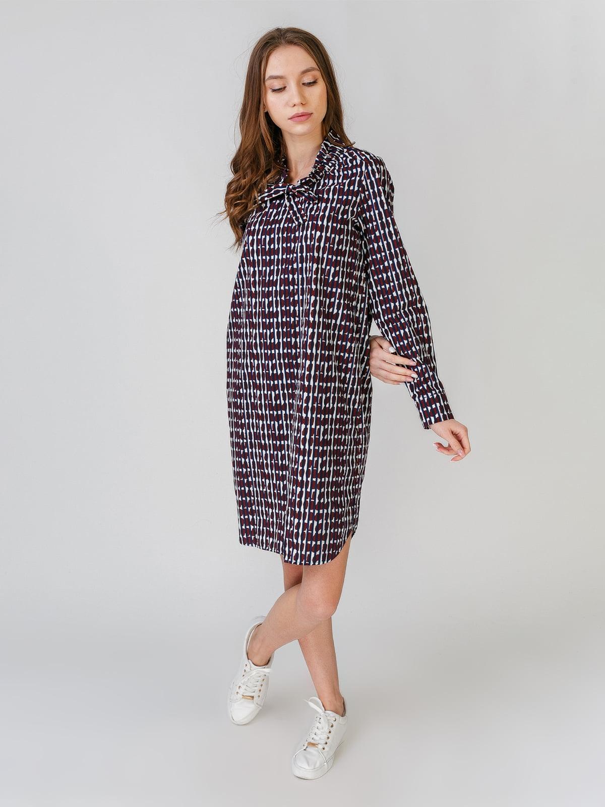 Платье в полоску и с принтом | 5609652