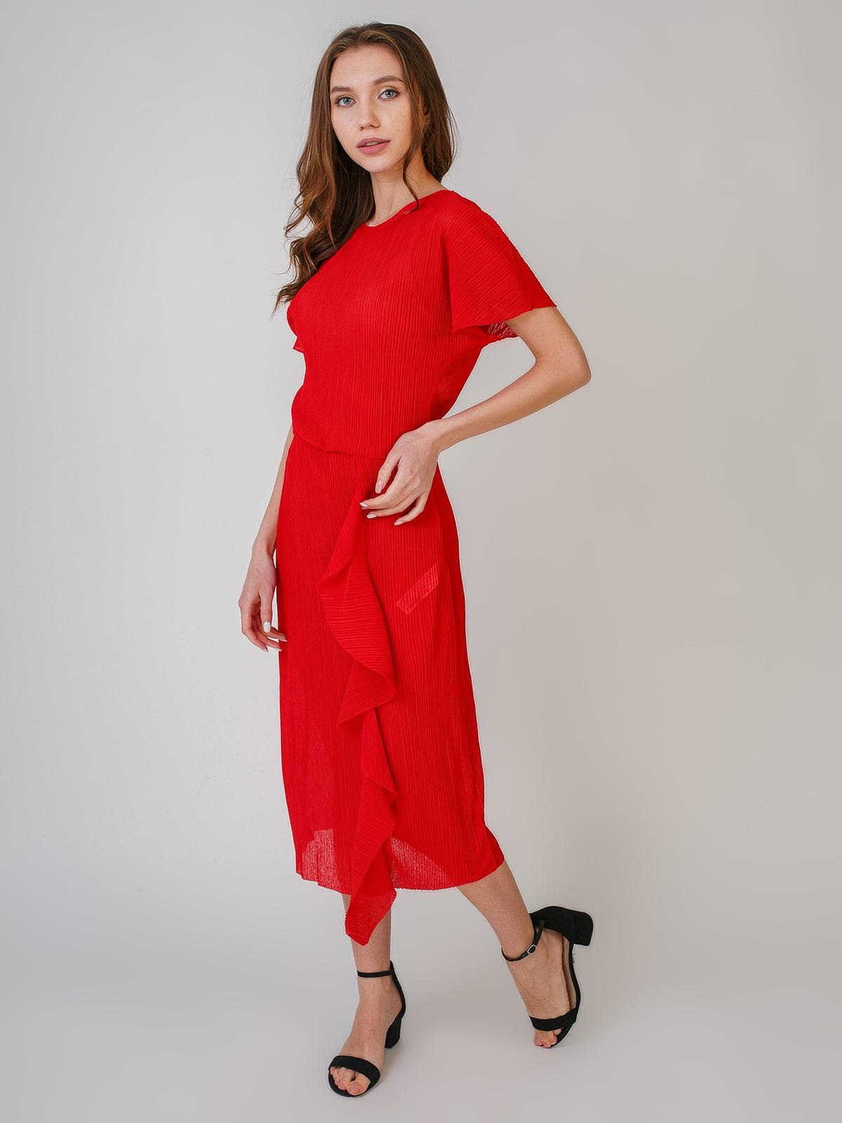 Платье красного цвета | 5609673