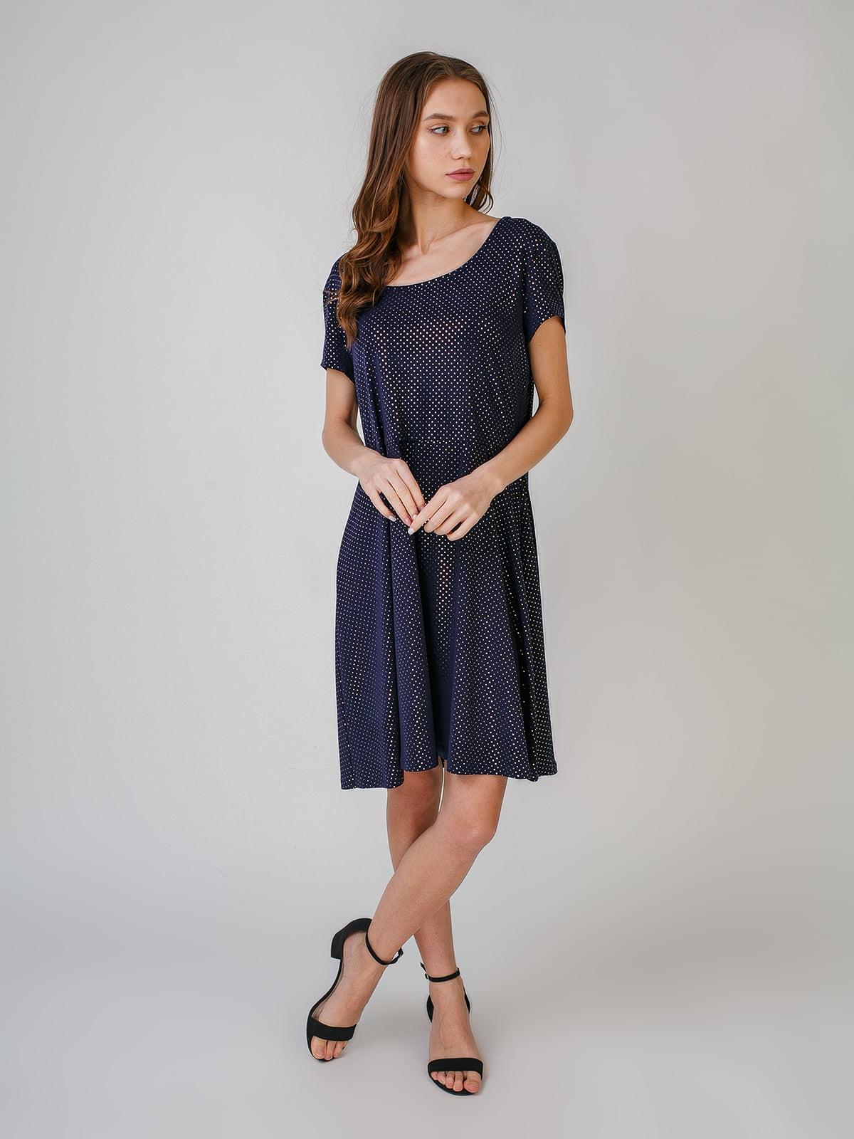 Сукня синя в цяточку   5609668
