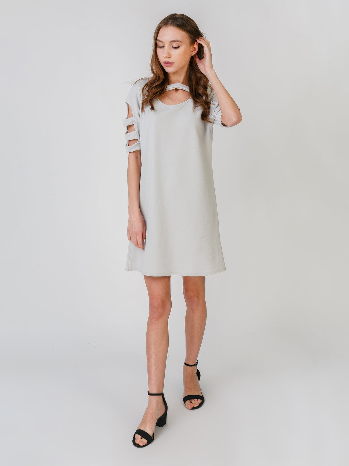Платье серое | 5609448