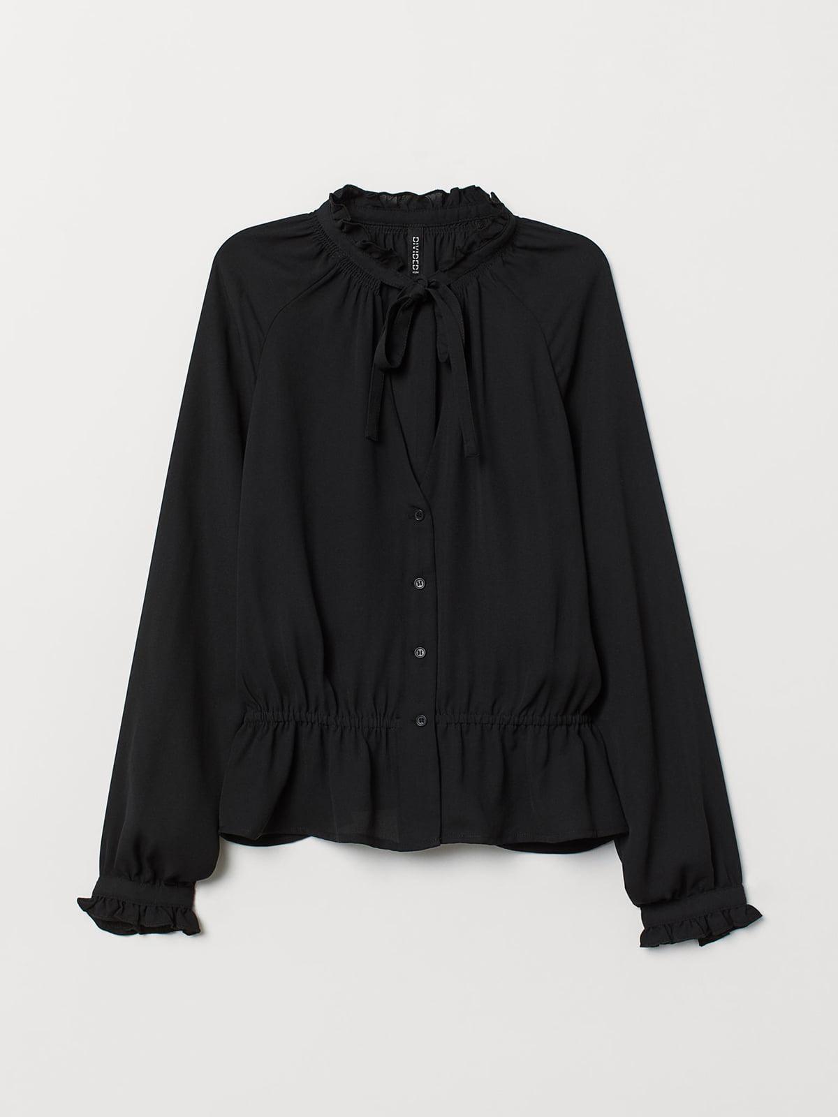 Блуза черная   5614541