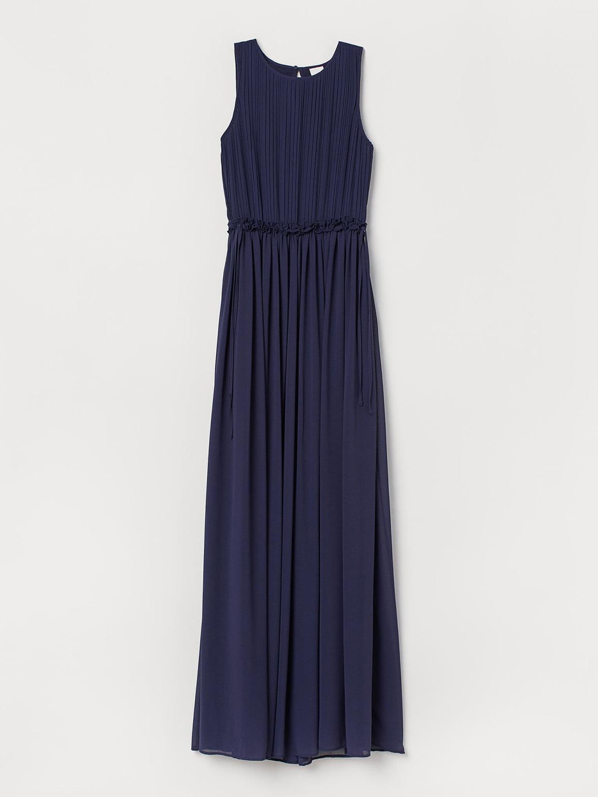 Платье темно-синее | 5614585