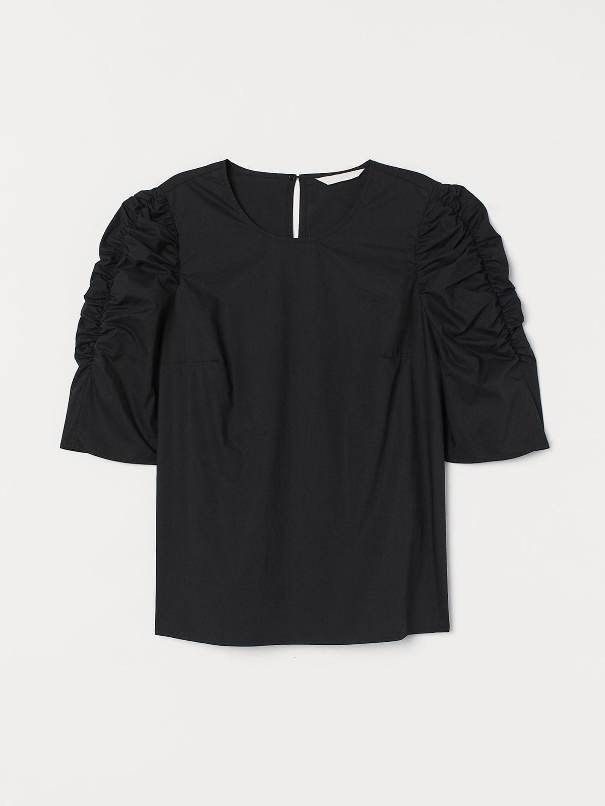 Блуза черная | 5614620