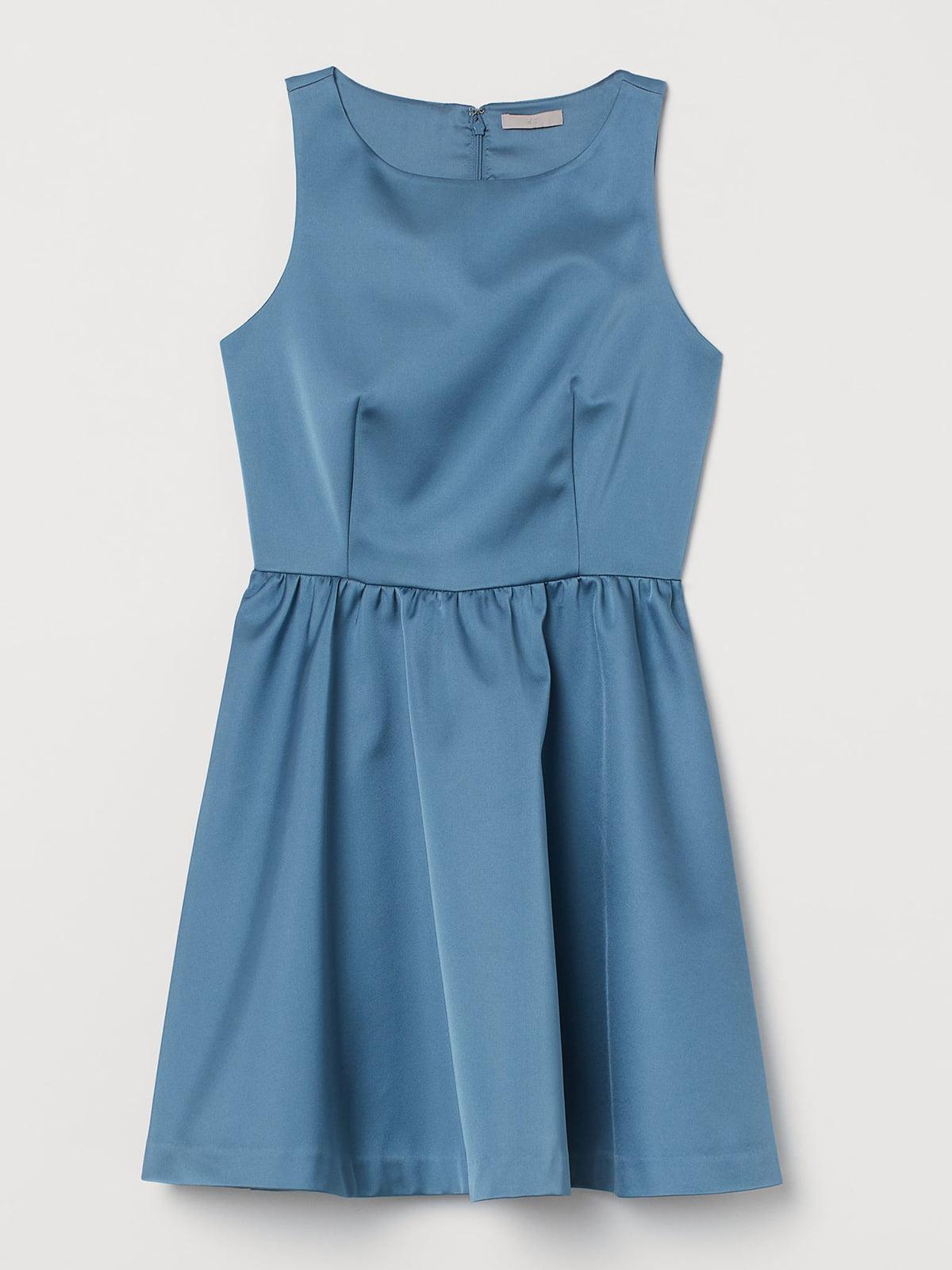 Платье голубое | 5614697