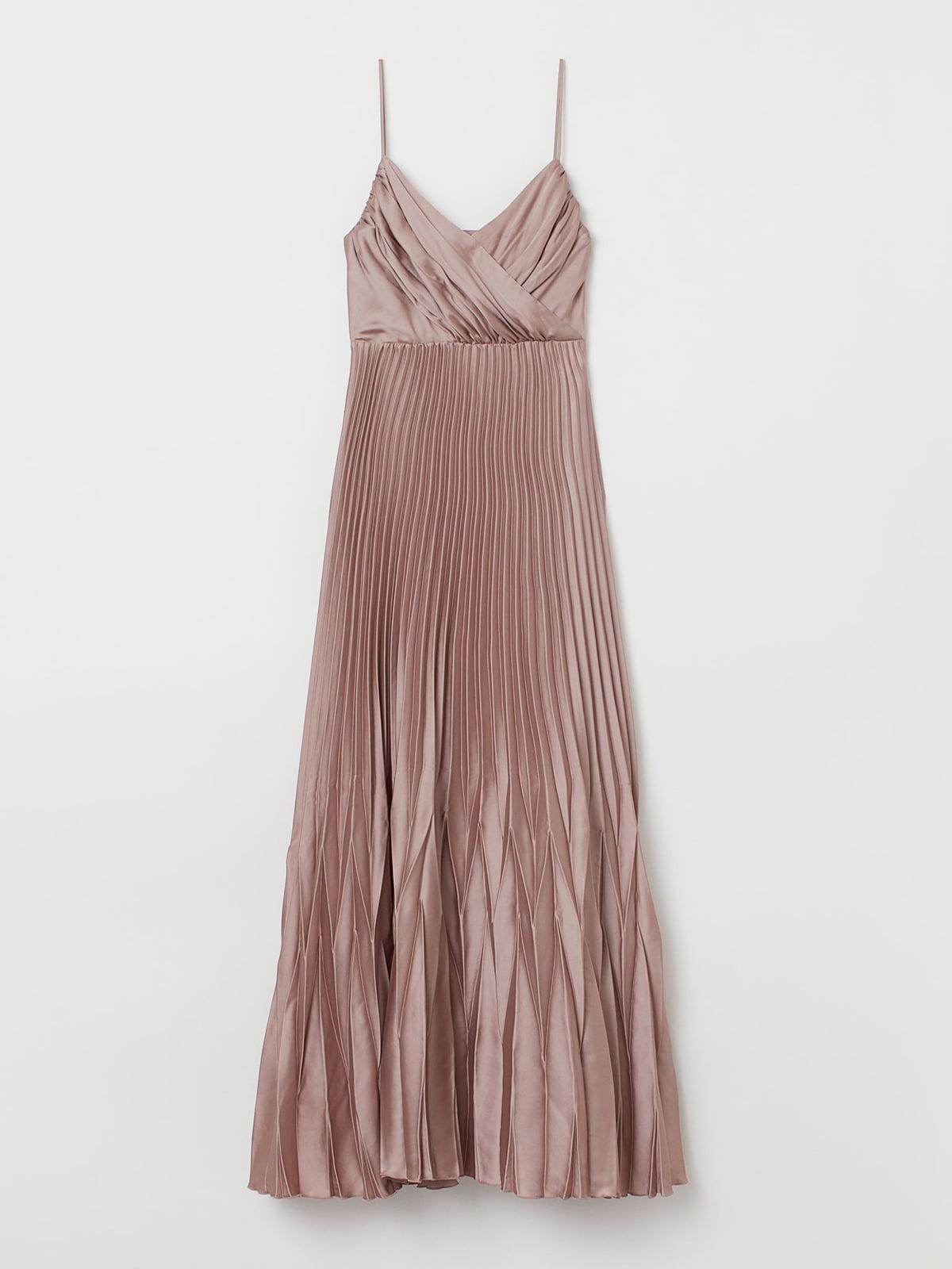 Платье темно-бежевое | 5614903