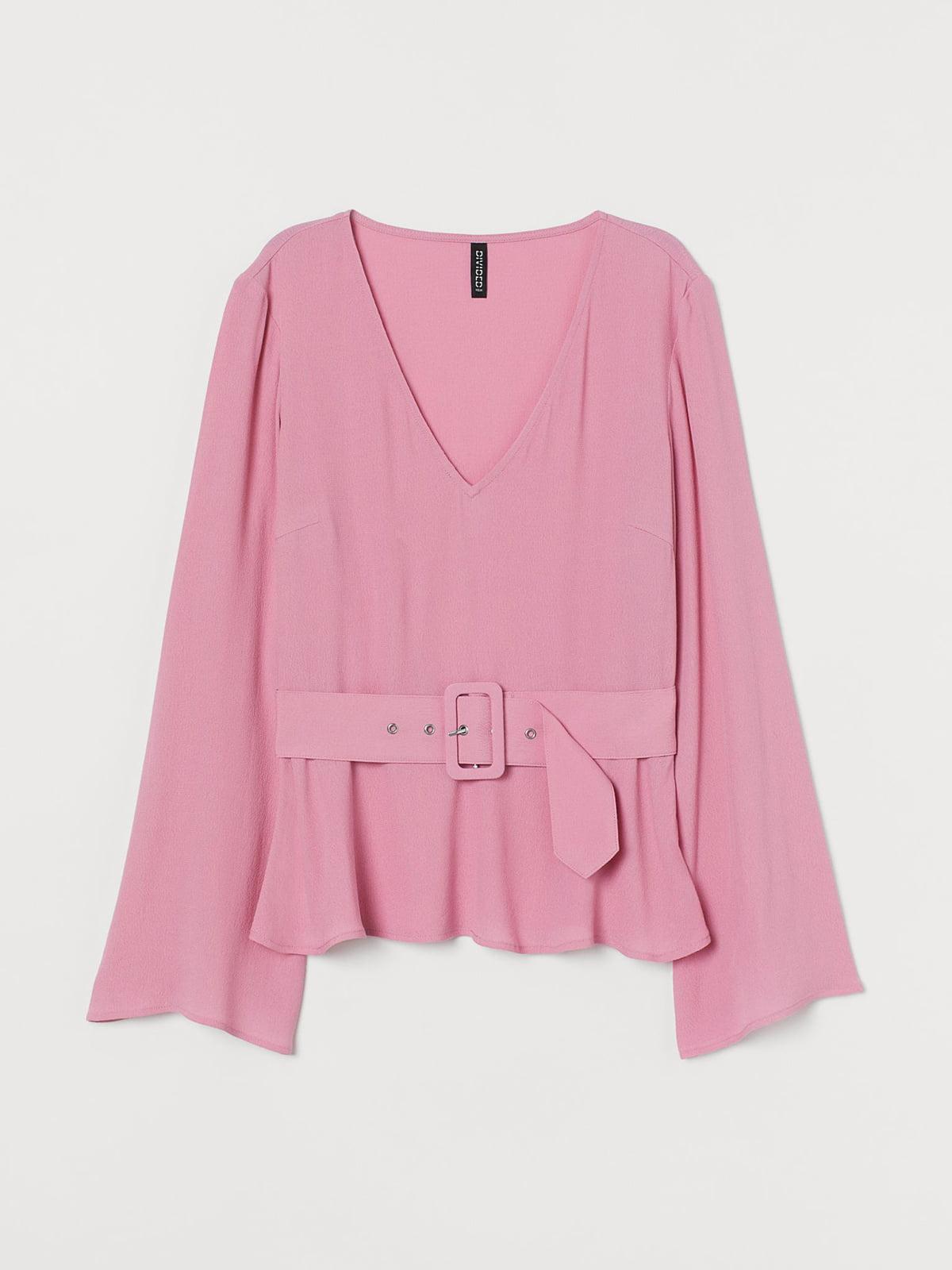 Блуза розовая   5614937