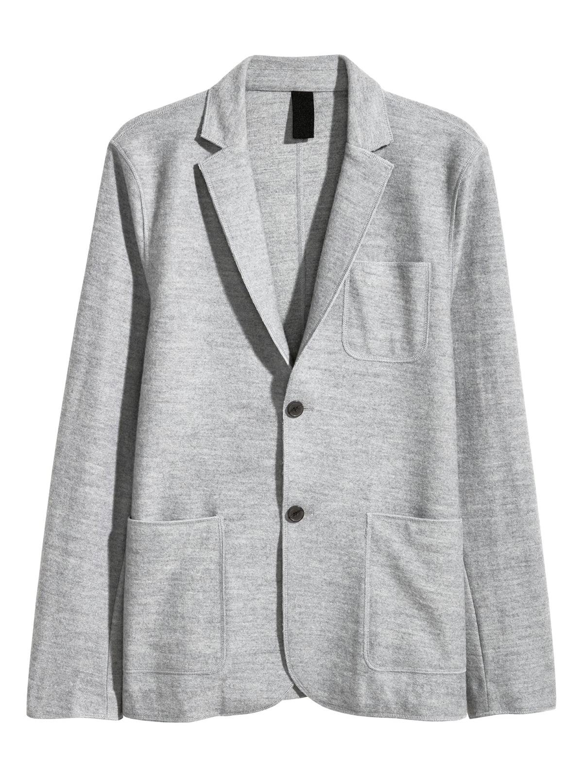 Пиджак серый | 5615015