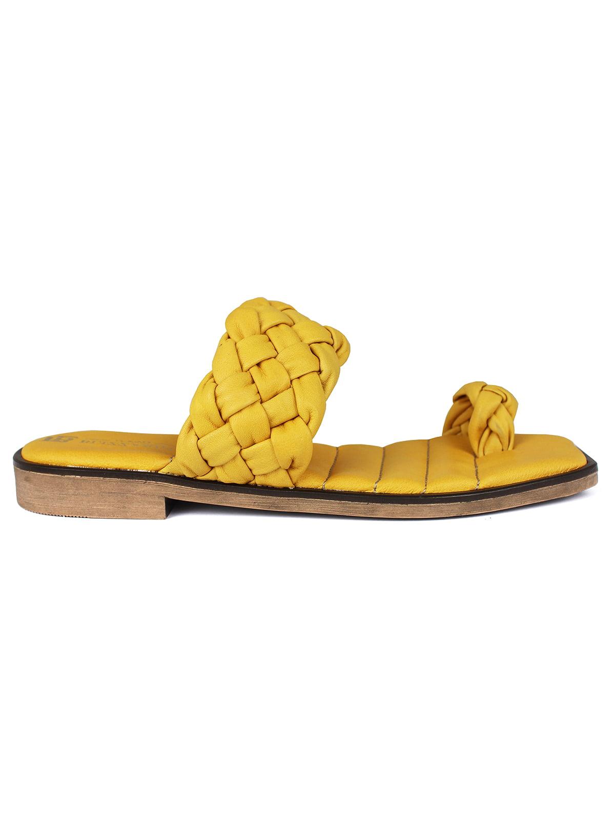 Шльопанці жовті | 5618198