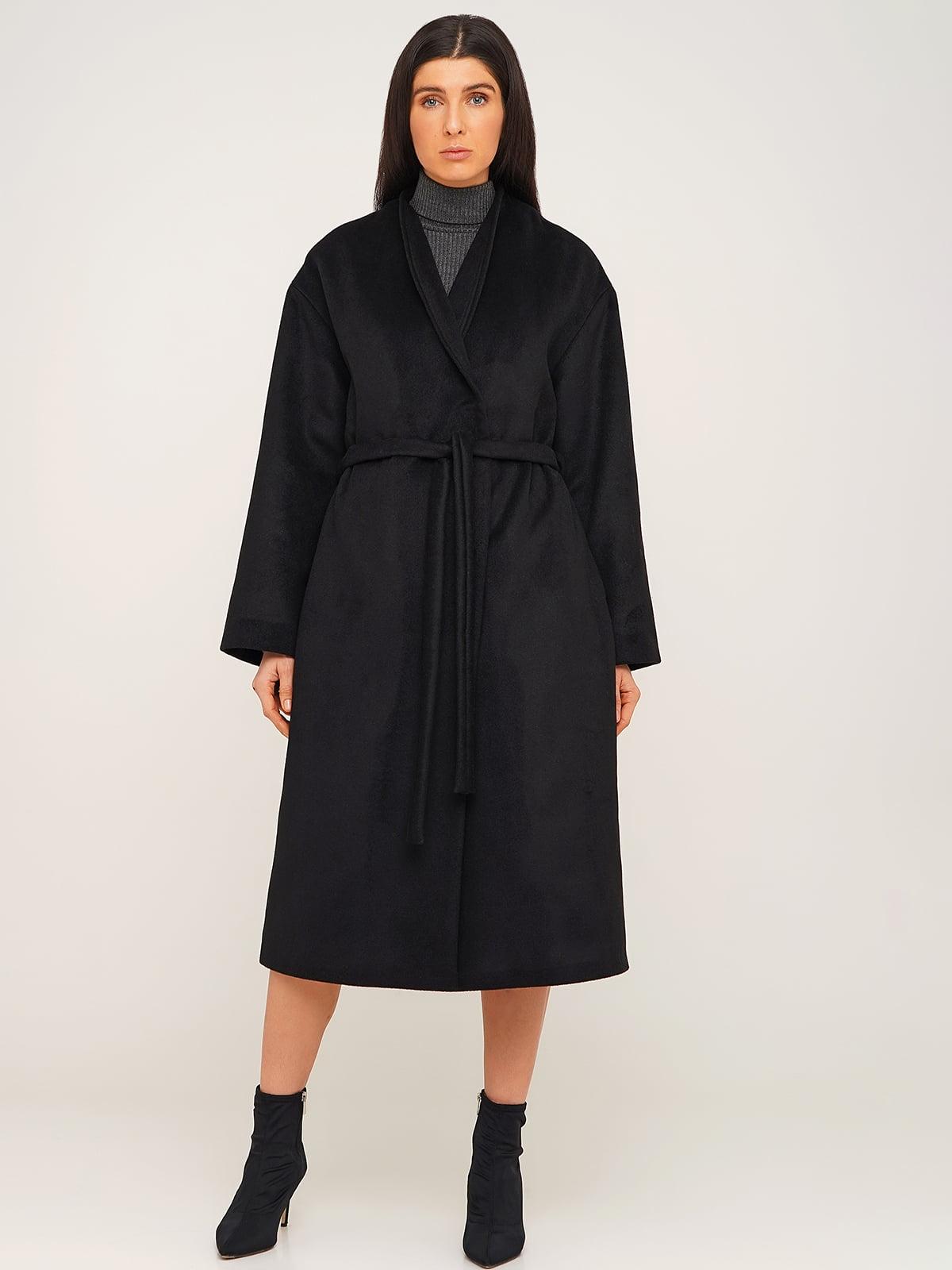 Пальто чорне | 5610370