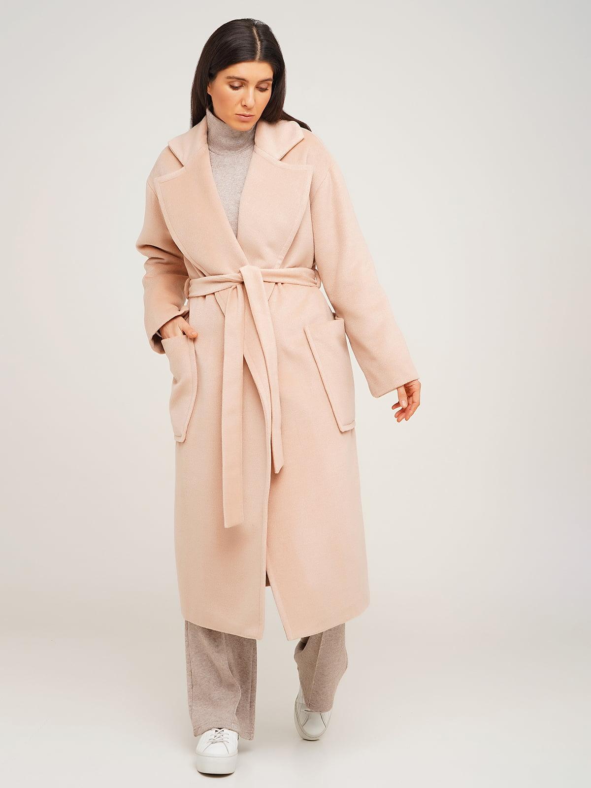 Пальто бежевого цвета | 5610372