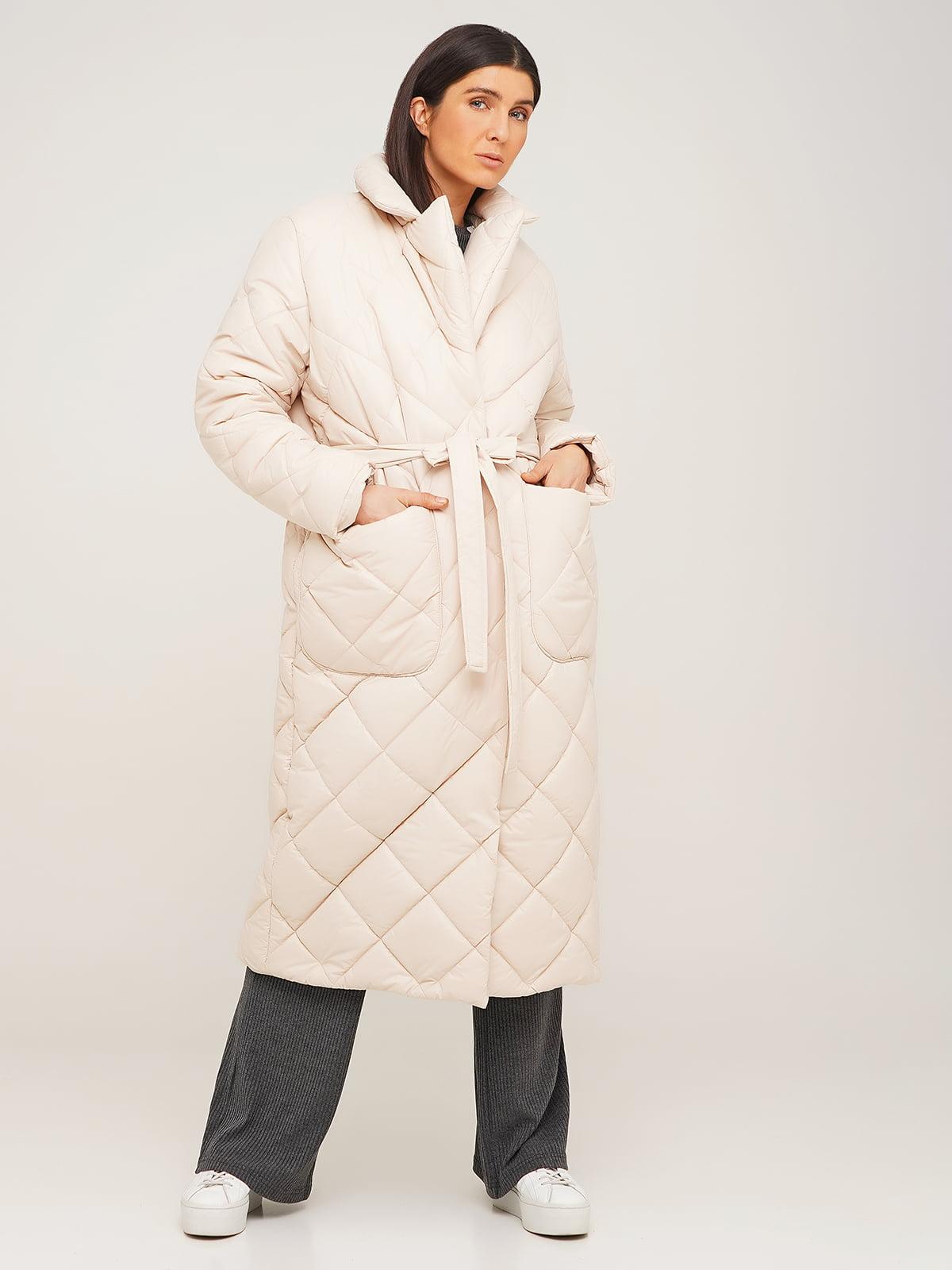 Пальто белое   5618653