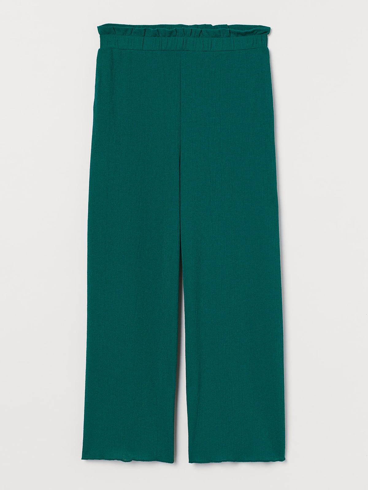 Брюки зеленого цвета | 5618453