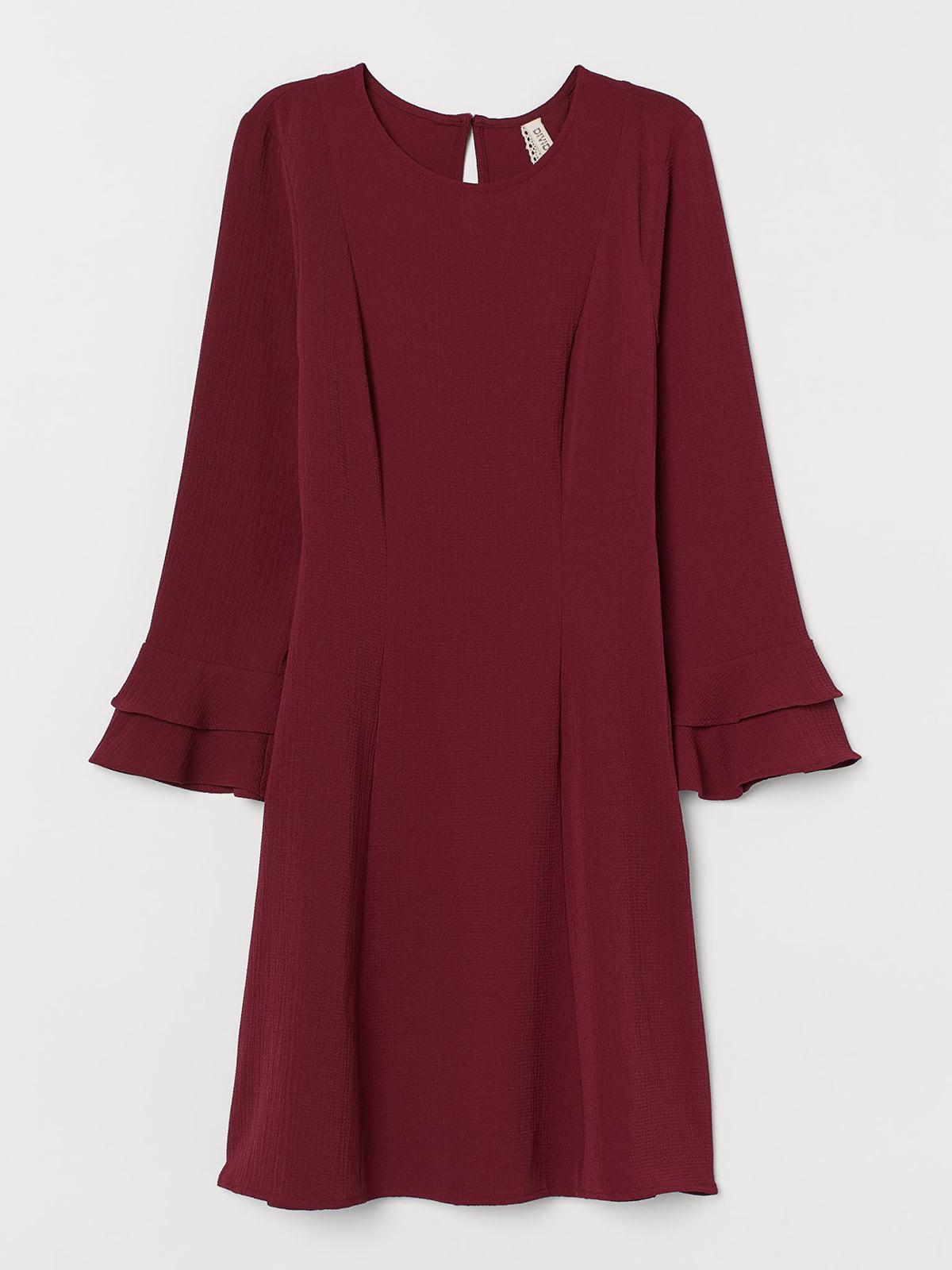 Платье бордовое   5618477