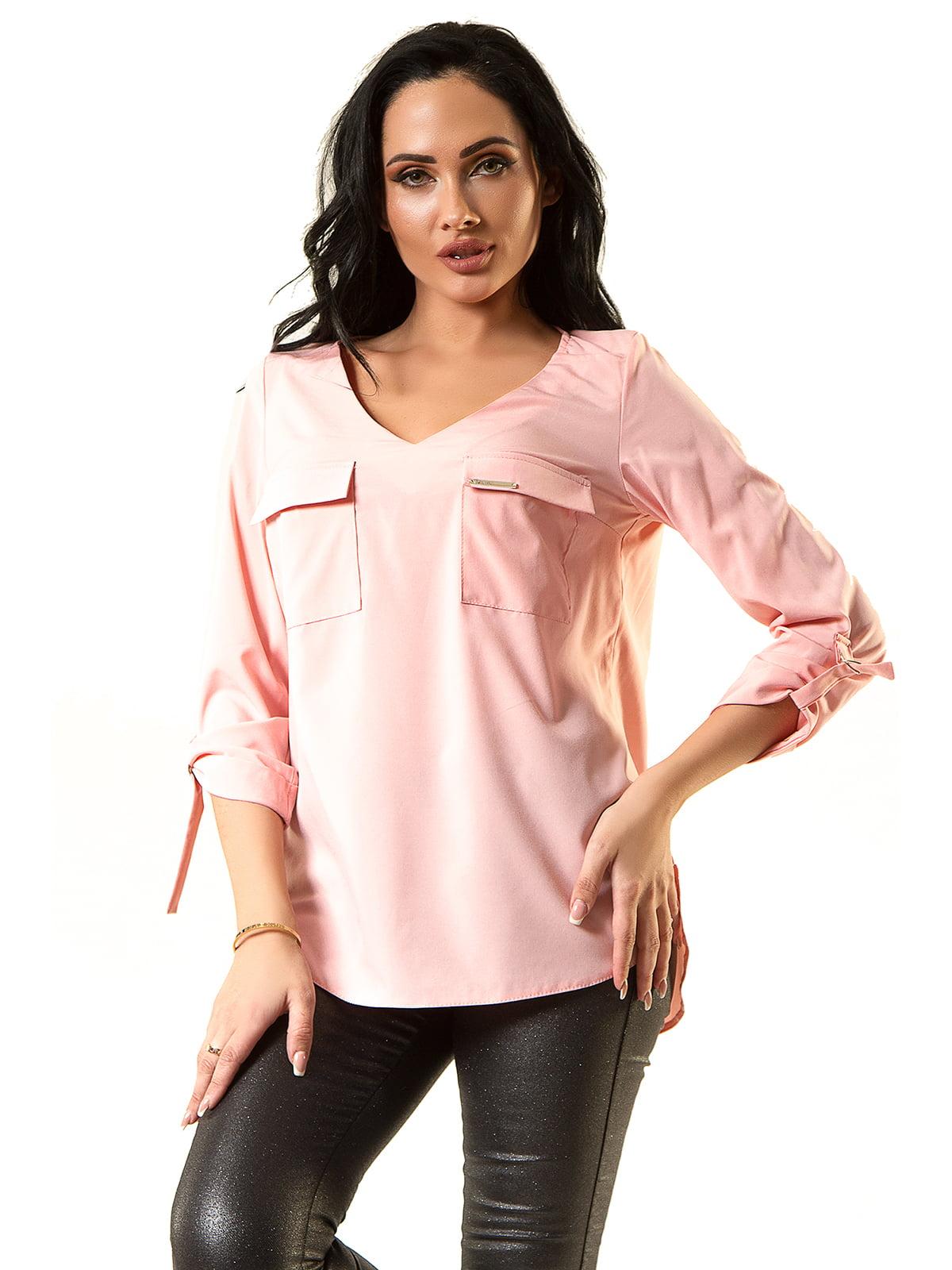 Блуза рожева | 5360315