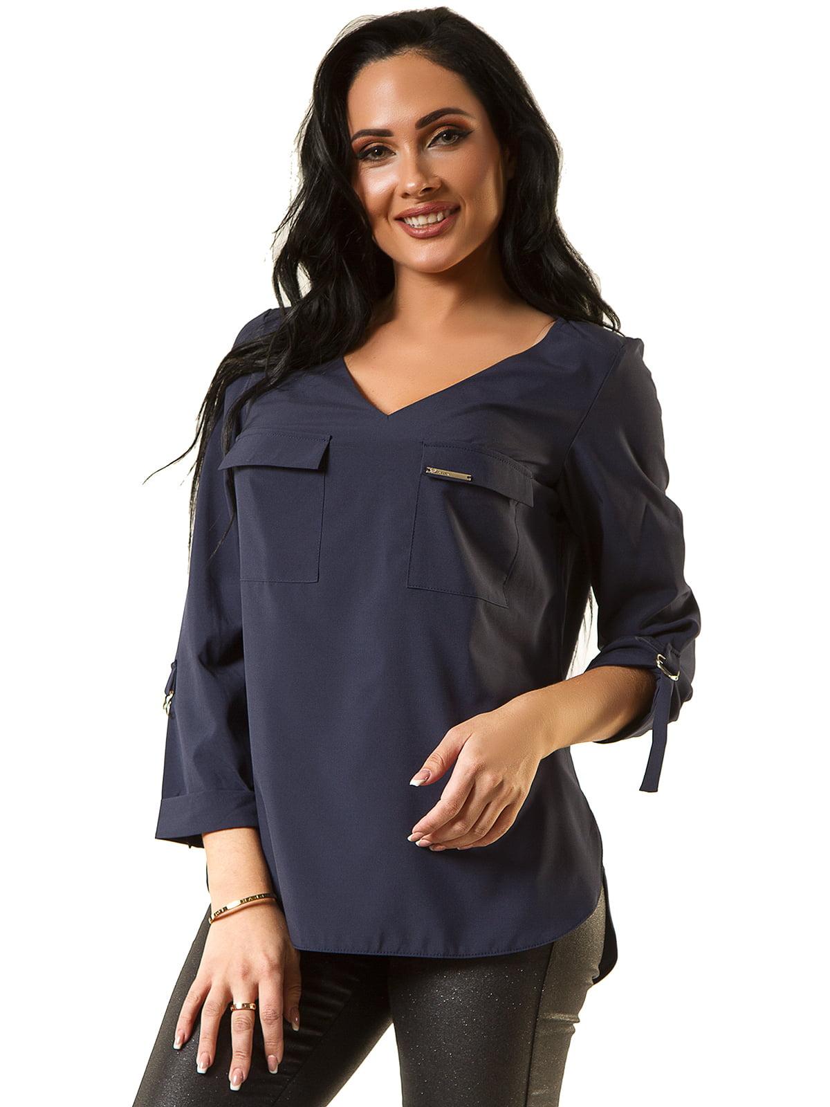 Блуза синя | 5360320