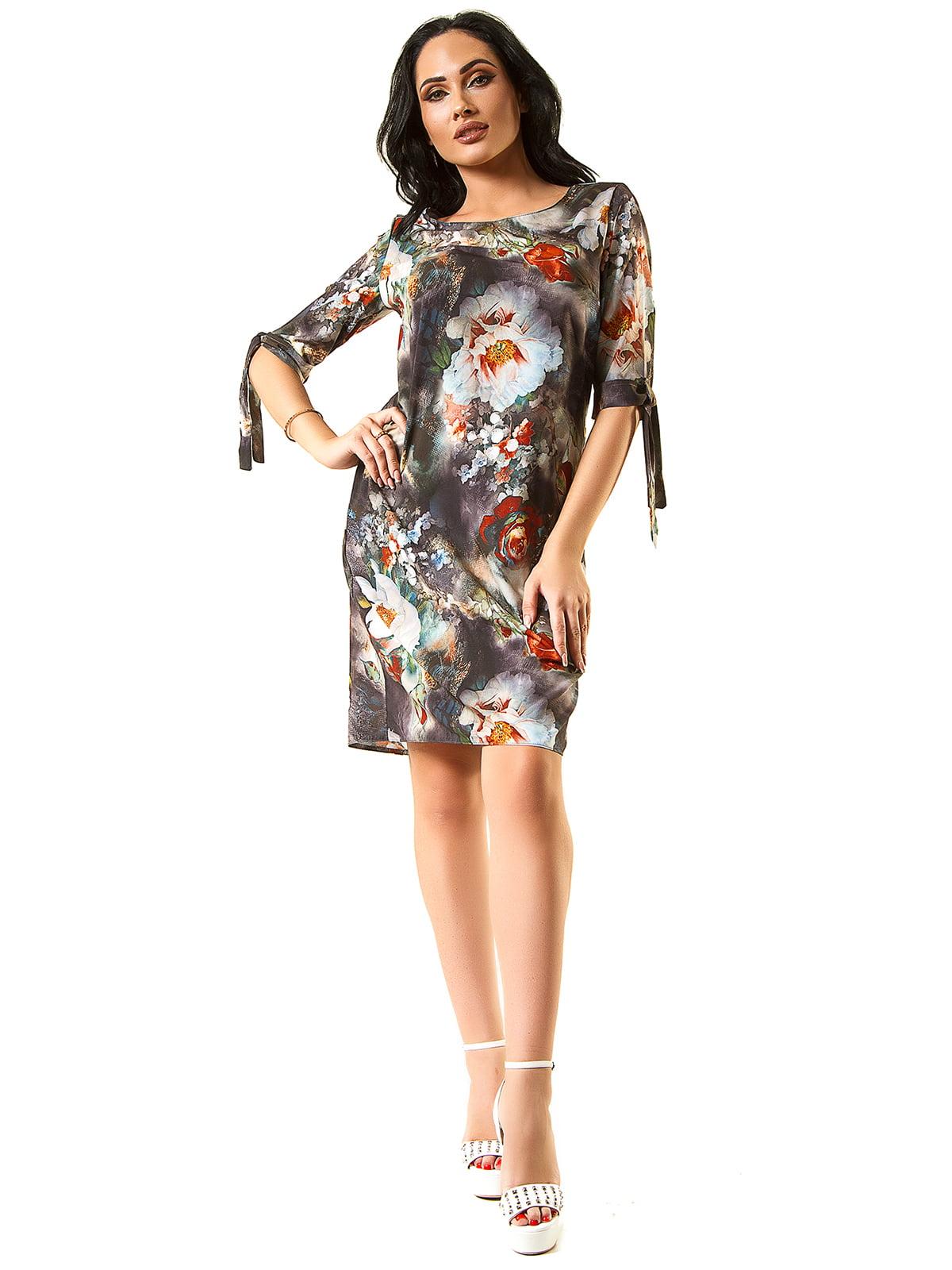 Платье черно-розовое   5360344