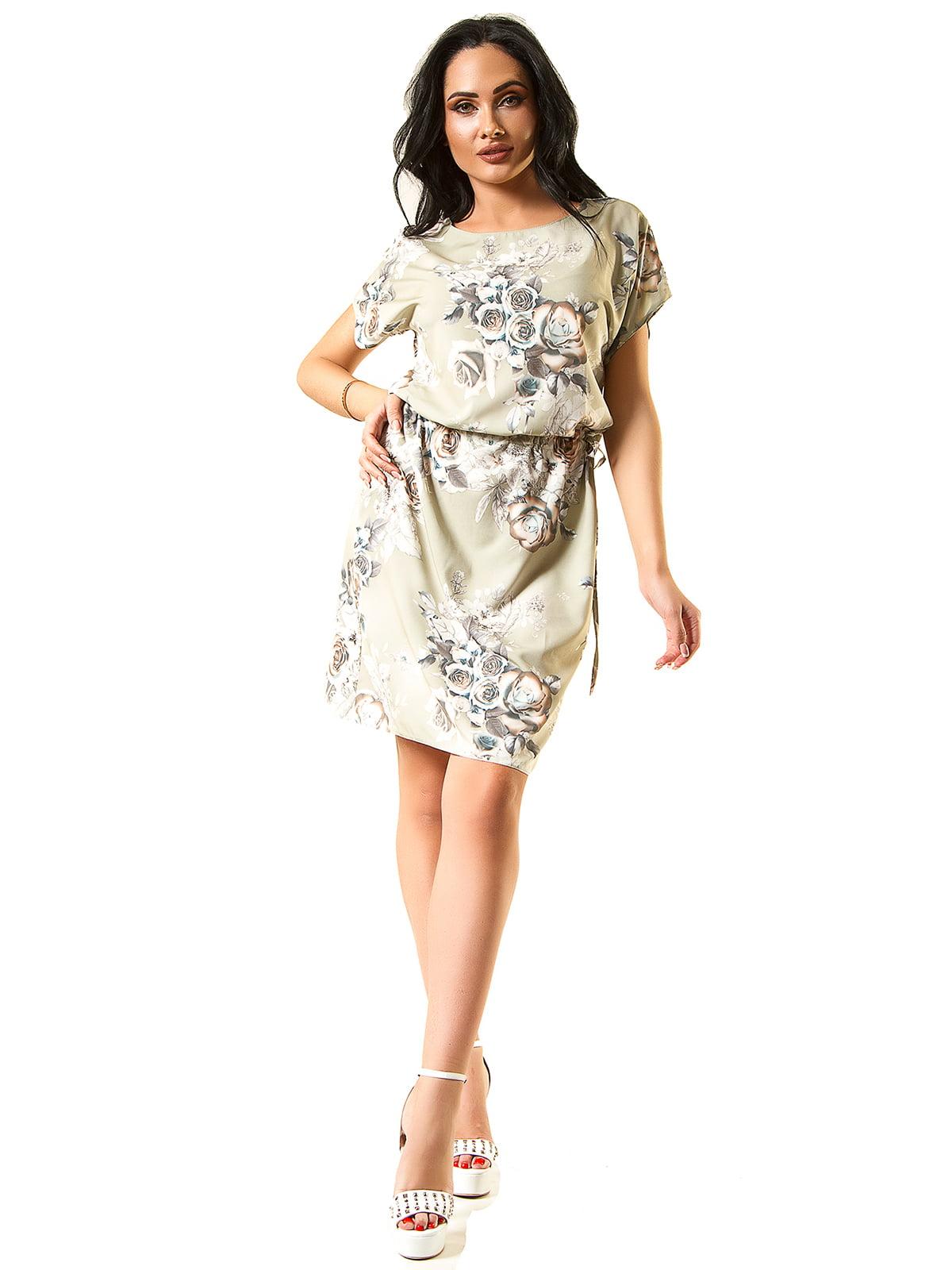 Платье оливкового цвета   5360350