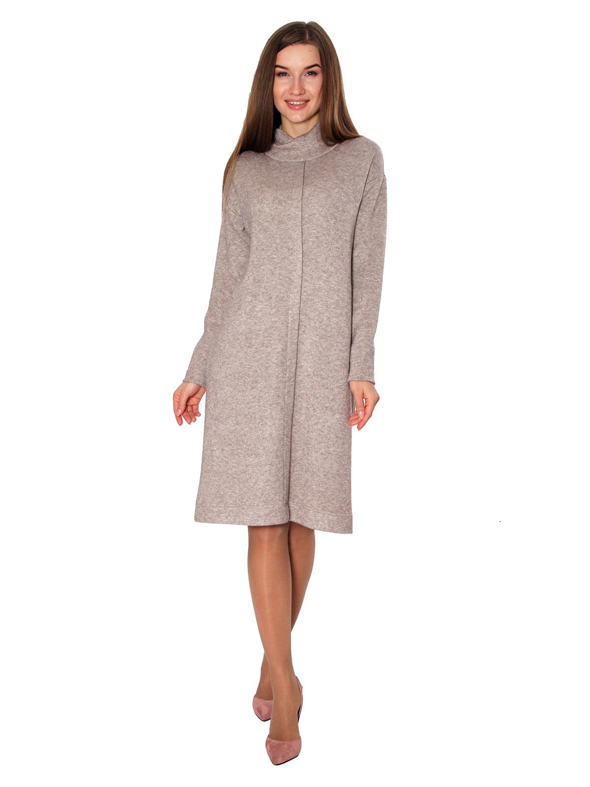 Платье бежевого цвета | 5619038