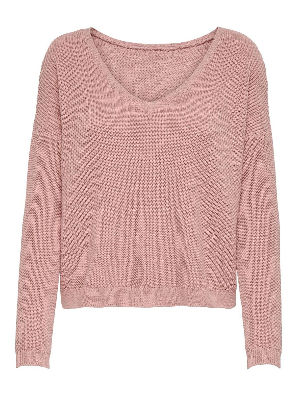 Пуловер розовый   5618335