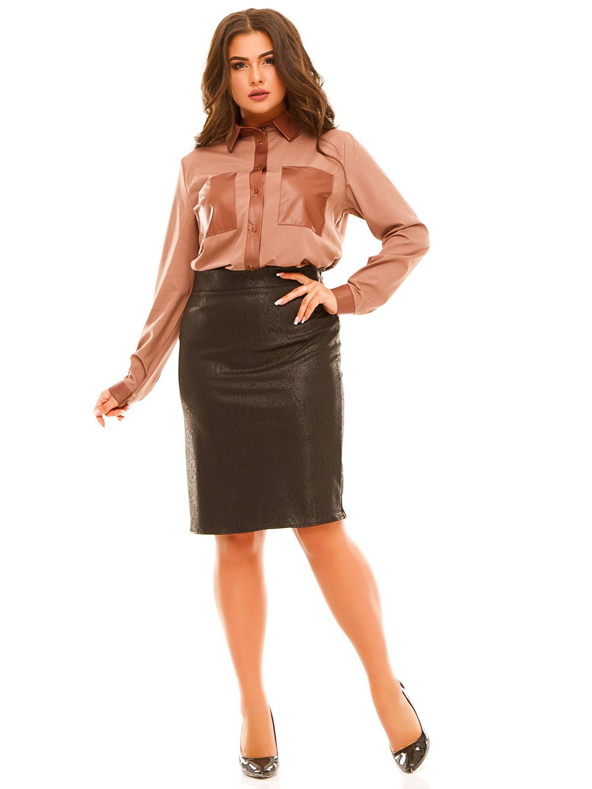 Блуза бежевая   5215510