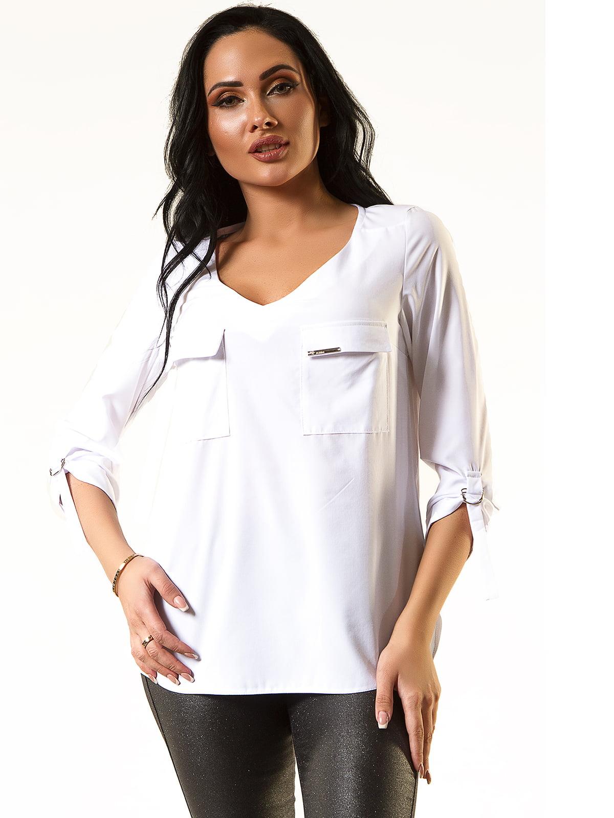 Блуза белая | 5360313