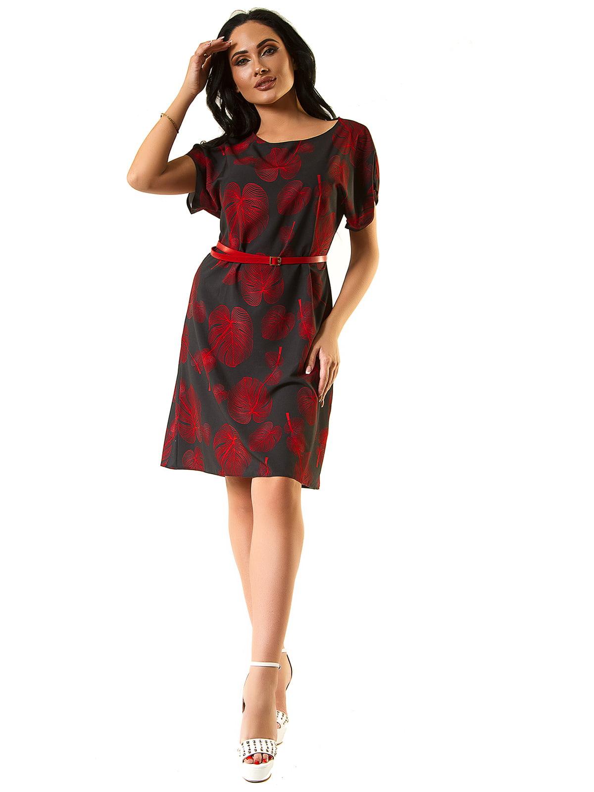 Сукня чорно-червона | 5360329