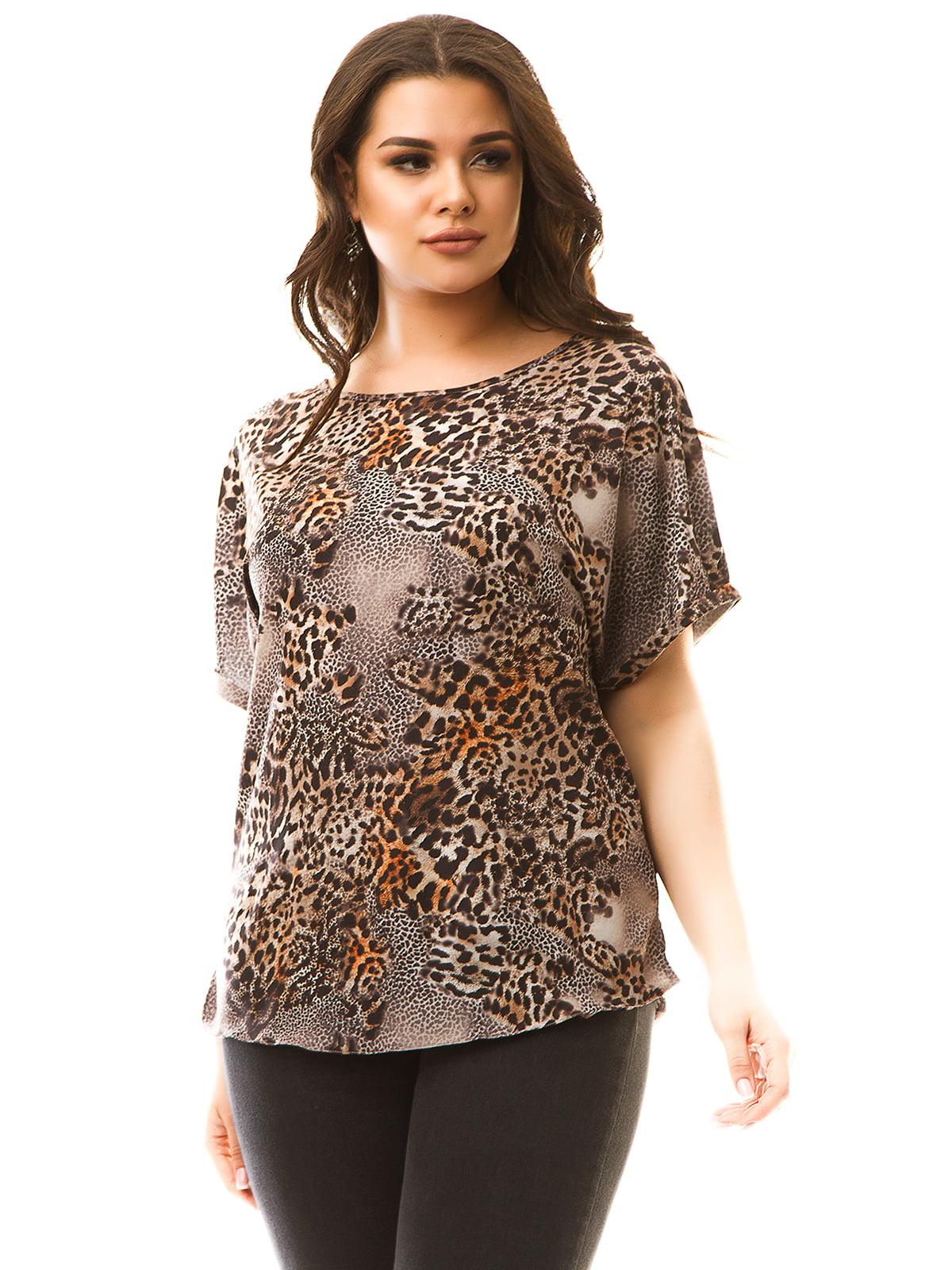 Блуза в принт   5381910