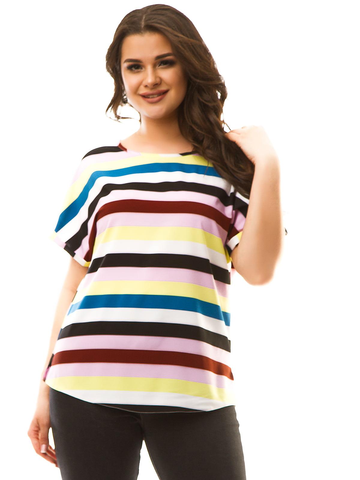 Блуза в полоску   5381911