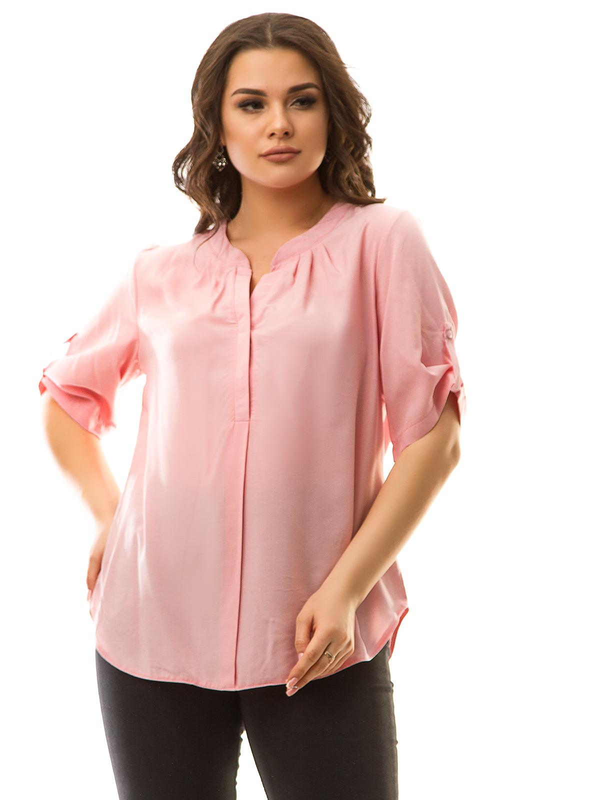 Блуза розовая   5381948