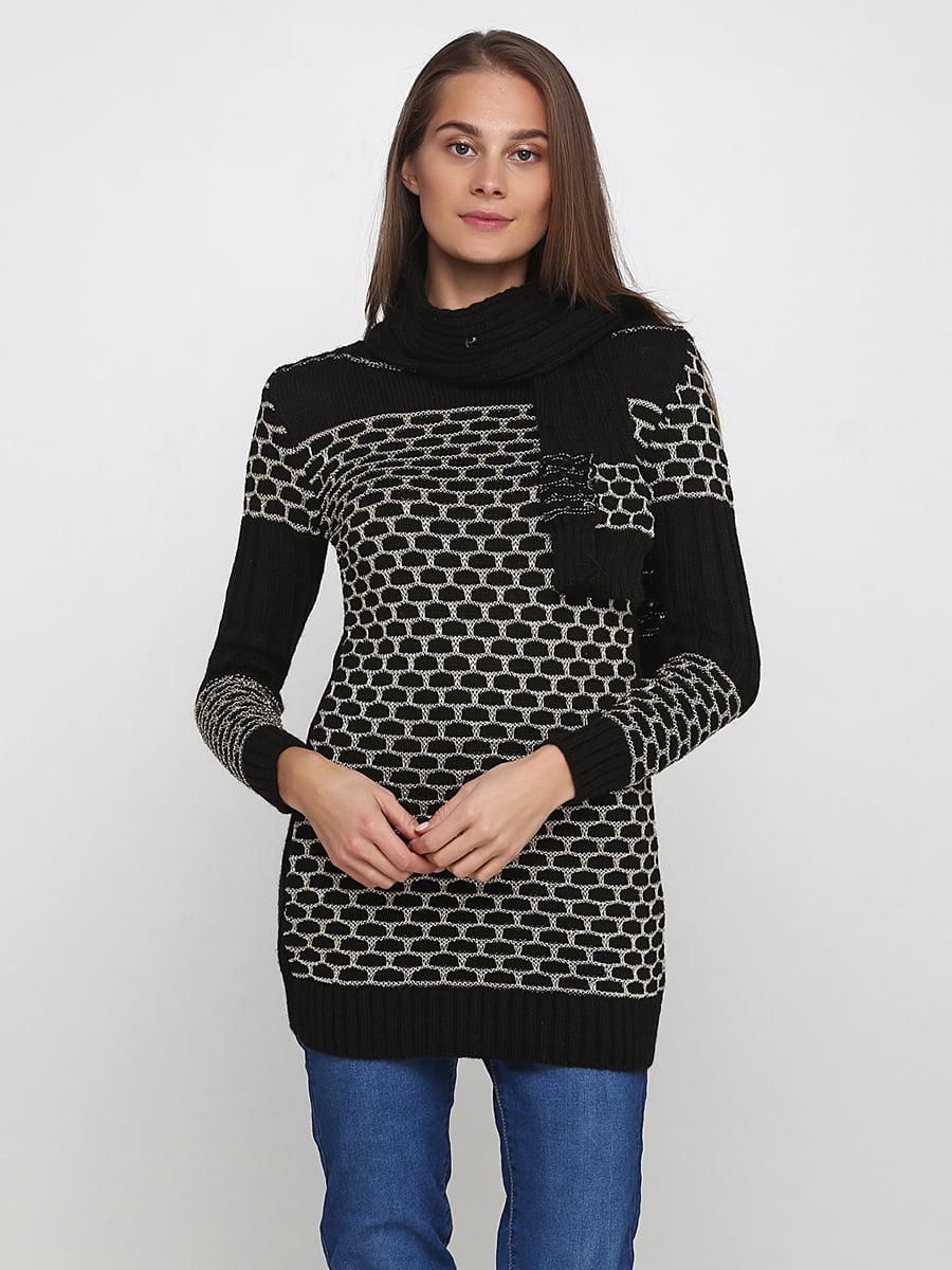 Комплект: туніка і шарф   5619347