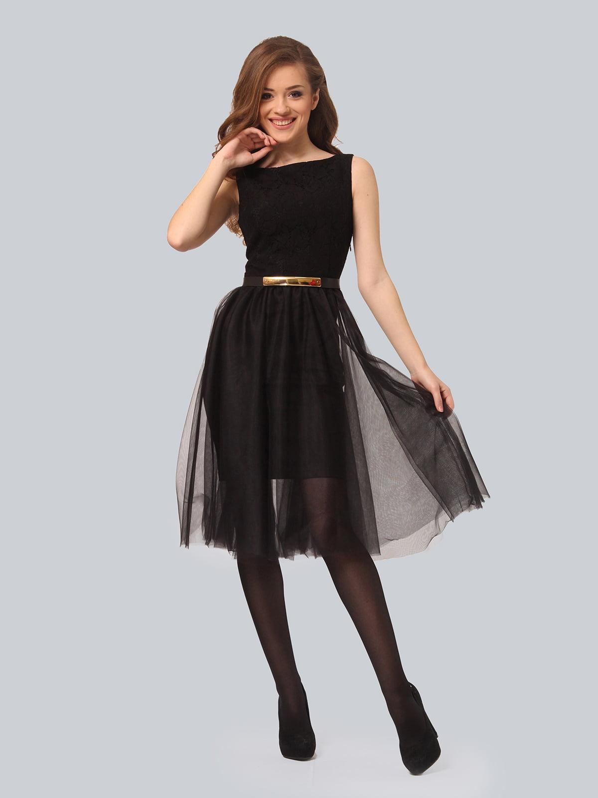 Платье черное   5620671