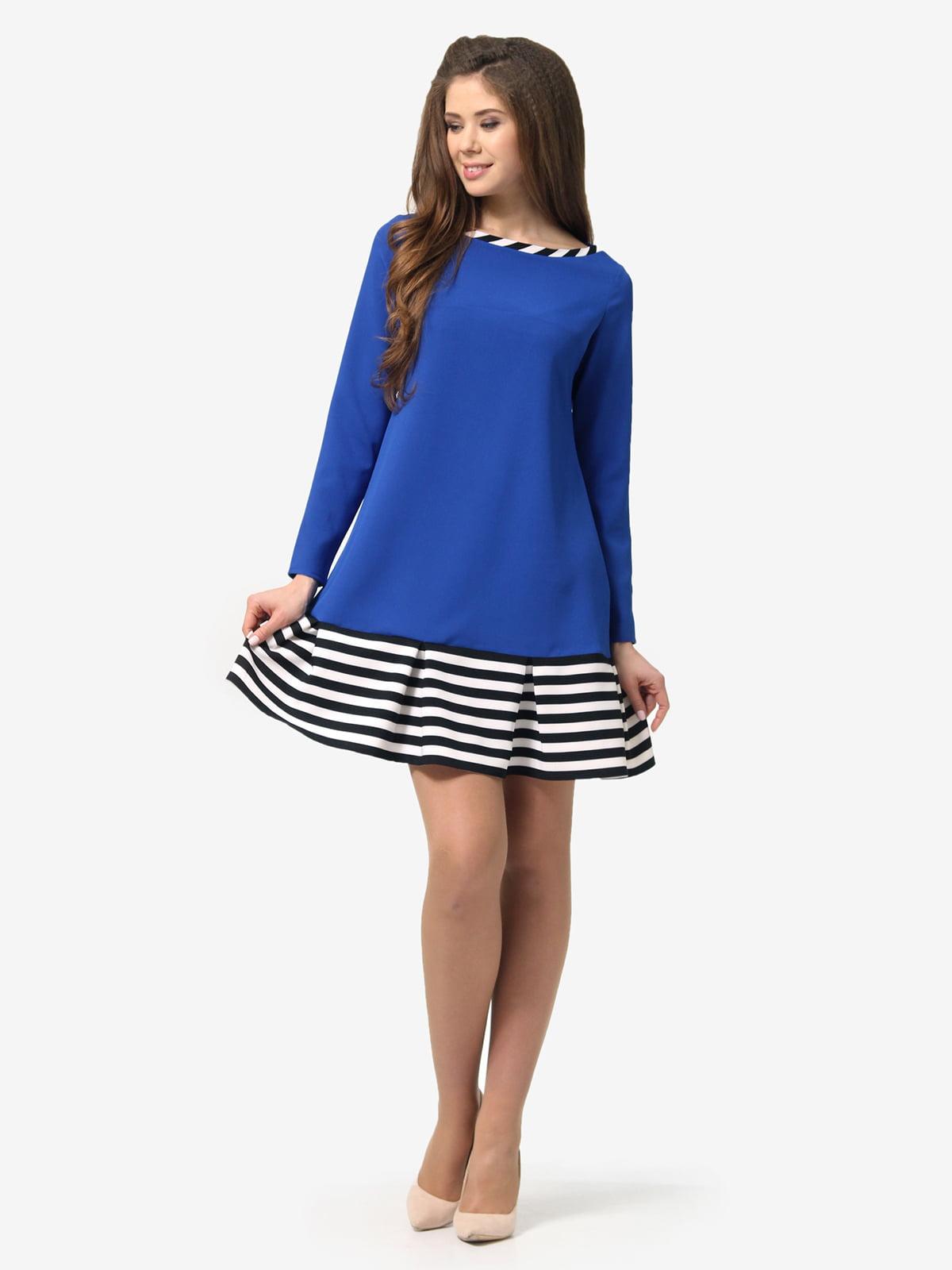 Сукня синя в смужку | 5620697