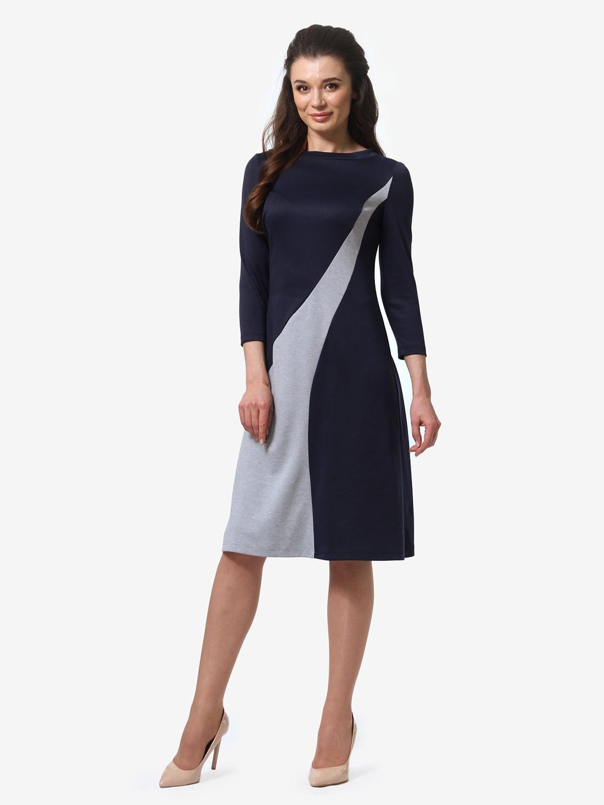 Платье двухцветное   5620779