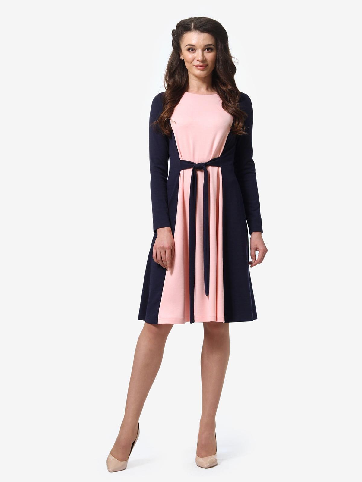 Платье двухцветное | 5621190